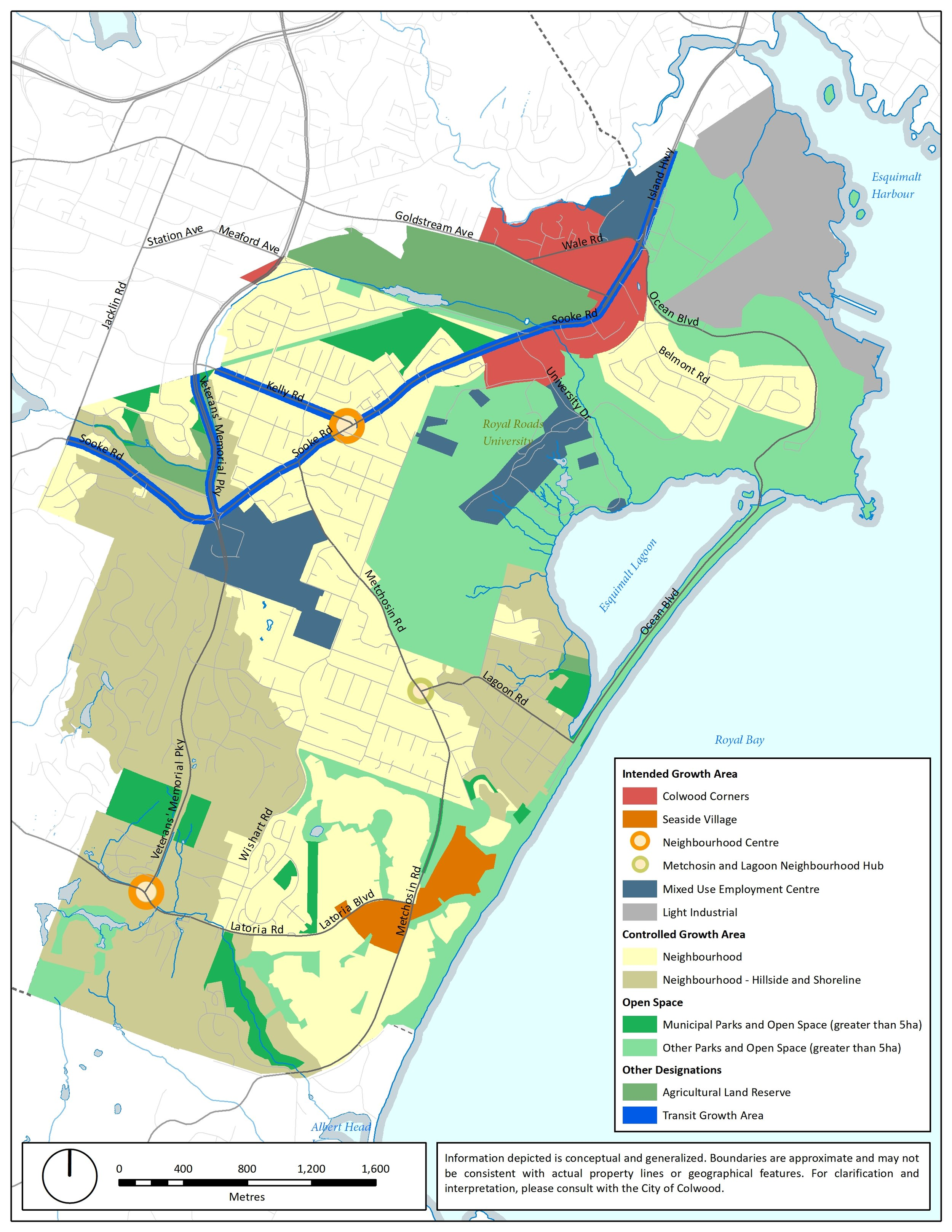 City of Colwood Draft Land Use