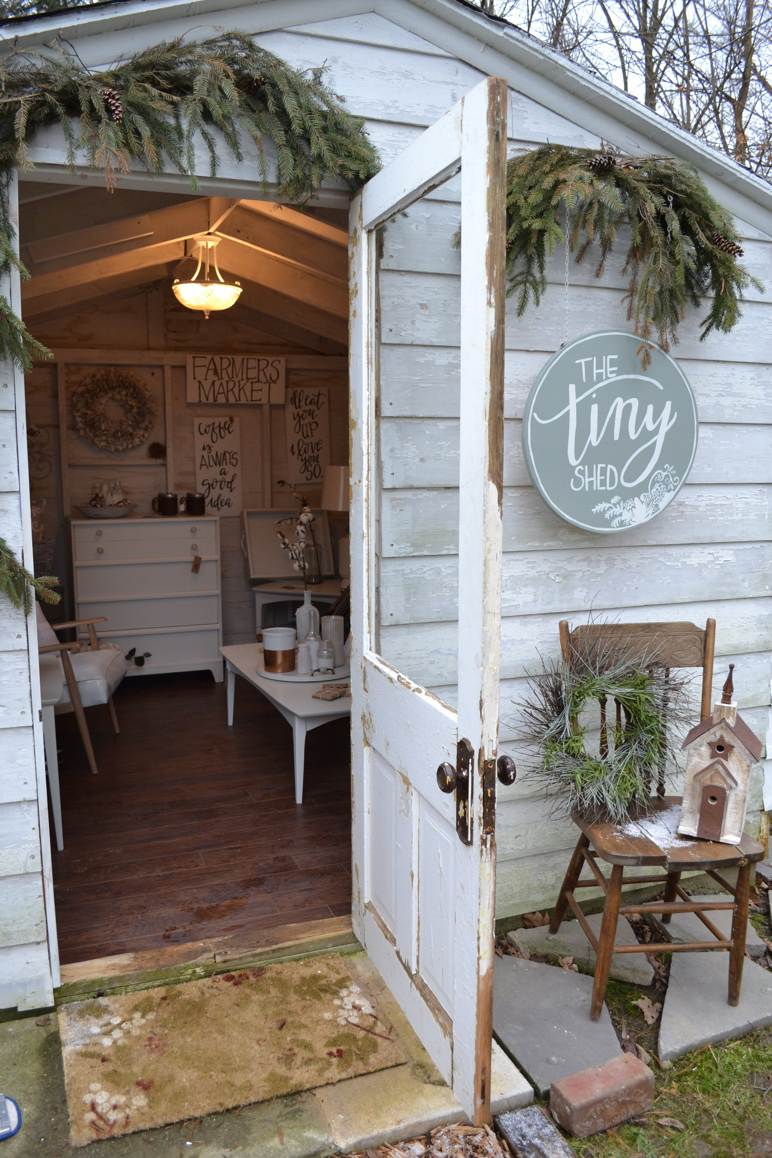 Outside the Tiny Shed (Jan 2017)