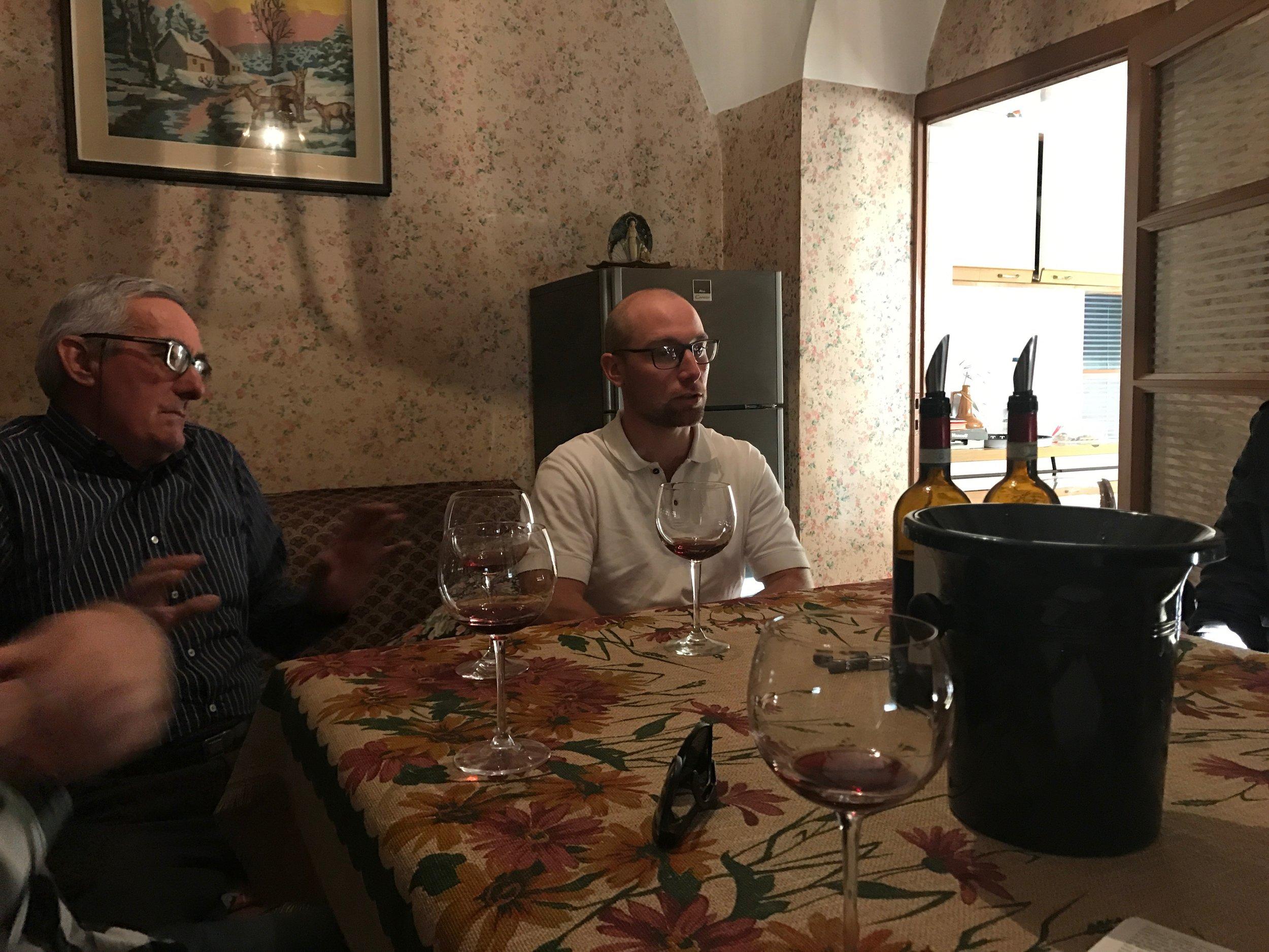 Mauro Franchino - Mauro and Alberto at home.jpg