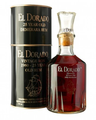 ...and the legendary 25 Year Old Vintage Luxury Cask Rum.