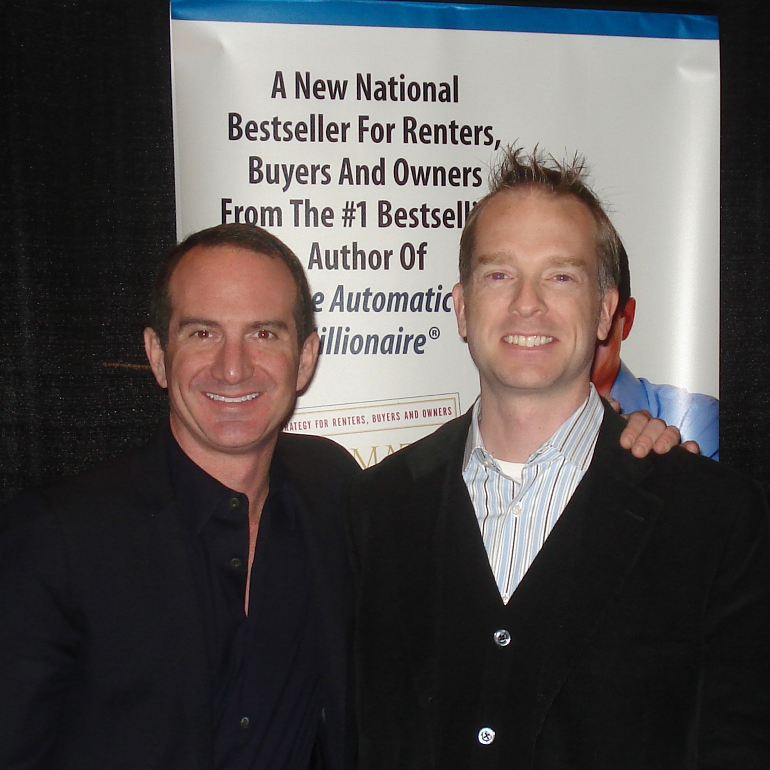 Scott with David Bach, New York Times best-selling author of  The Automatic Millionaire  and  Start Late, Finish Rich