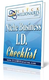 Niche Identification Checklist