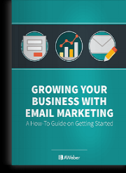 Get a FREE copy of Aweber's Guide to Getting Started with Email Marketing here...