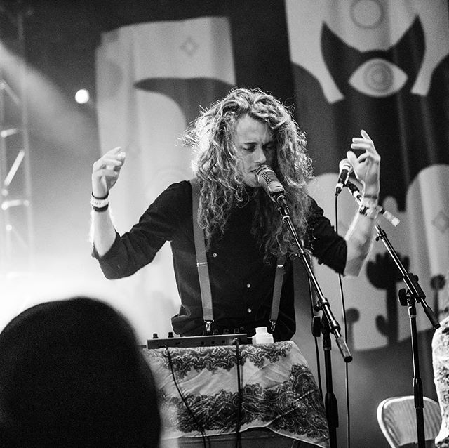 Boise! On April 18, I'll be playing a very special solo set opening up for the incredible  Like a Villain and Sun Blood Stories at @theolympicboise. I cannot overstate how much of an honor being on this bill is.  Photo by @madame.calamity  #stterrible #treefort2019 #music #livemusic #concertphotography #looping #solo #singing #crazyhair #synth