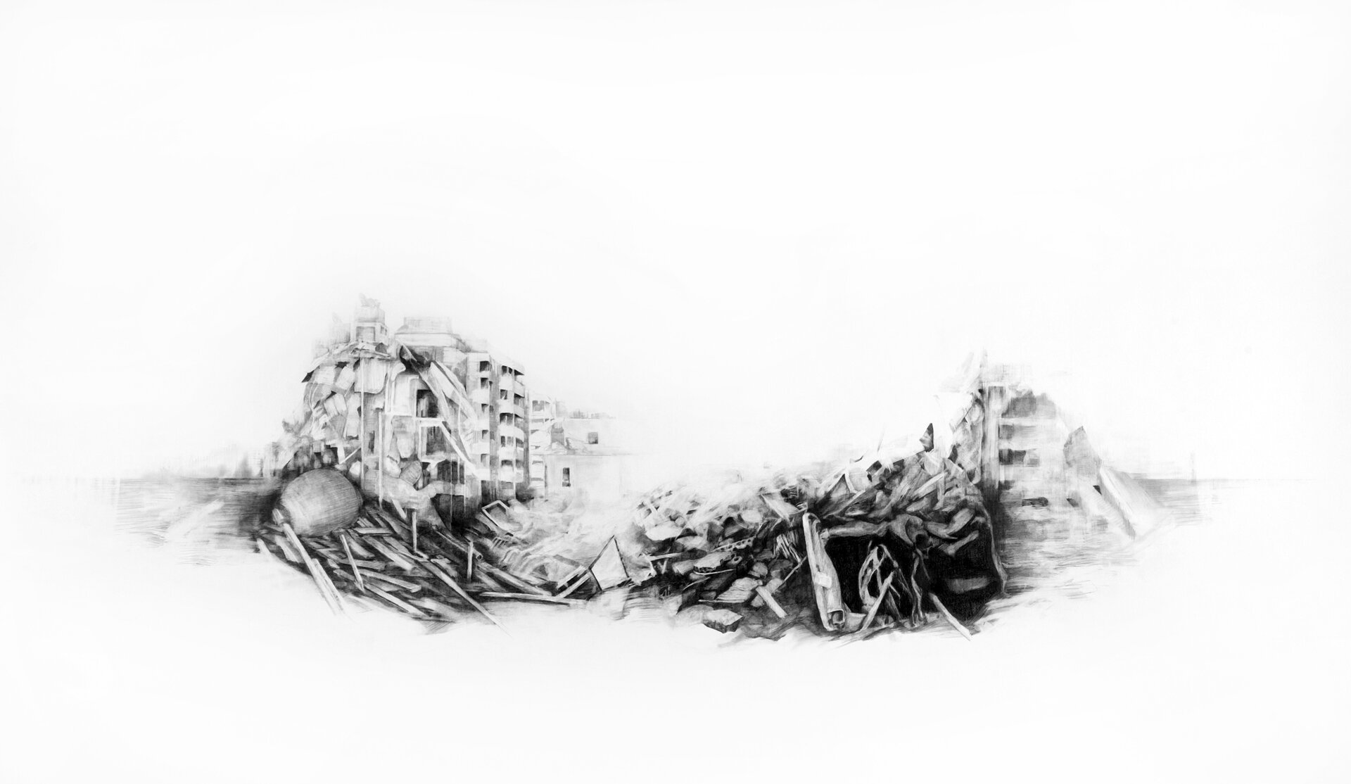Rubble,  2006, will be included in the exhibition  The Beginning of Everything  at the Katherine E. Nash gallery.