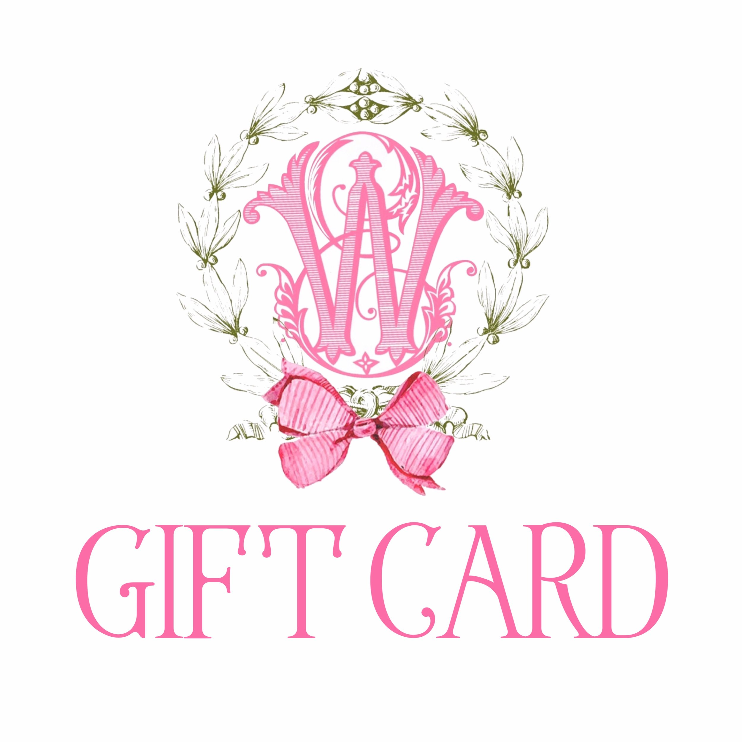 EWD GIFT CARDS NOW AVAILABLE! - We are so excited to announce that we now offer gift cards!