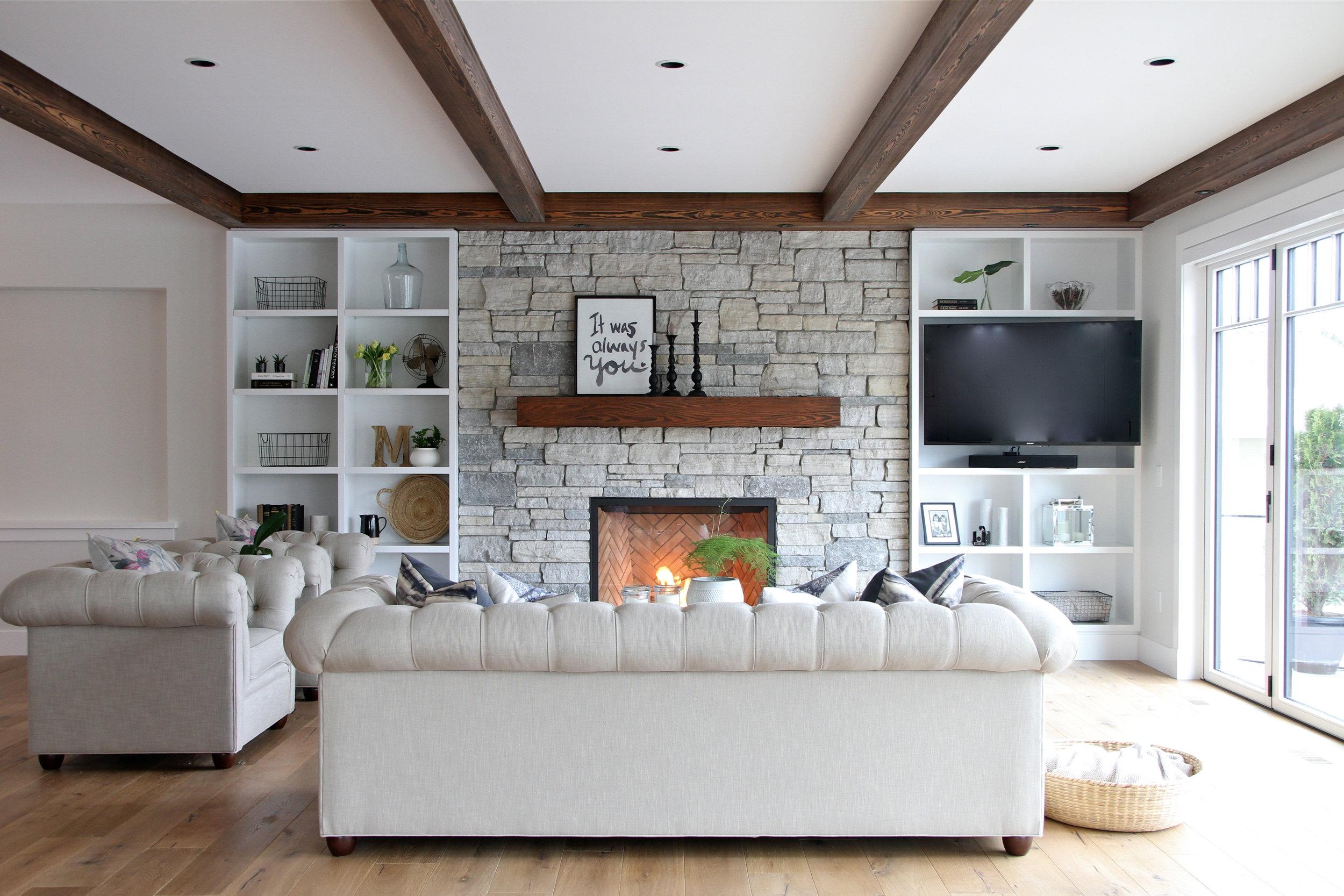 Vernon Lakehouse Living Room