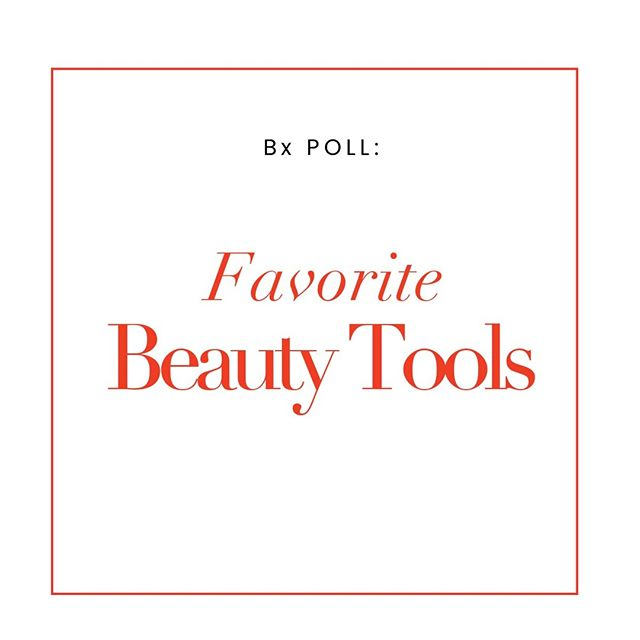 Bx POLL 💥We want to know your favorite beauty tools 👏Comment and let us know what you're loving. We'll repost in stories!⠀⠀⠀⠀⠀⠀⠀⠀⠀ ⠀⠀⠀⠀⠀⠀⠀⠀⠀ #beautyscripts #bxpoll #beautytools #beautytips #mua #makeupartist #beautypicks