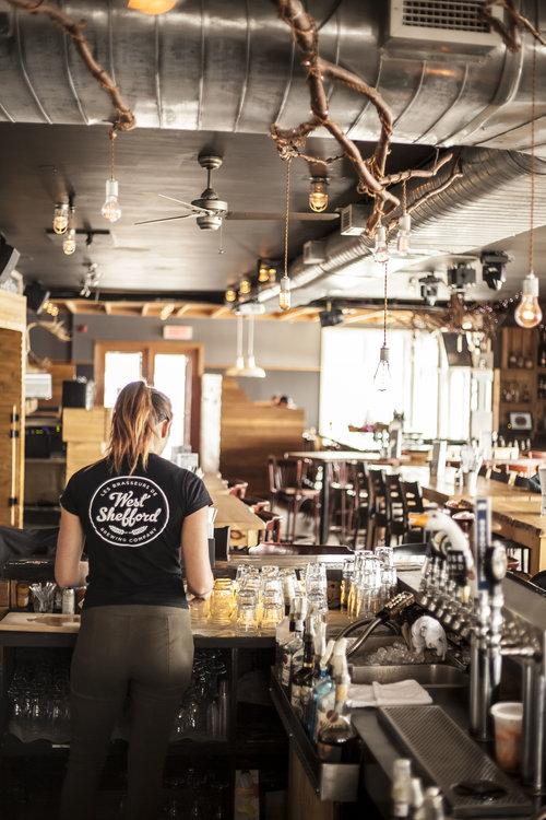 Resto-pub Edgar Hyperlodge de Bromont