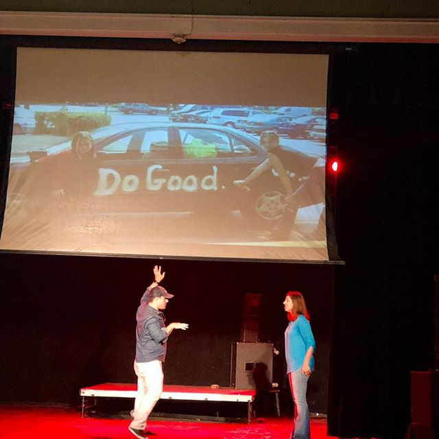 @ambermelsmith gives us all the community feels with @activategood - double tap if you're pumped for talk. See link in bio for our speaker lineup . . . . #tedxraleigh2018 #tedxraleigh #downtownraleigh #raleighnc