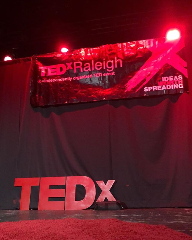 It's going down. Ideas worth spreading begins today. Follow the Insta story for big day moments . . . . #tedxraleigh2018 #tedxraleigh #downtownraleigh #raleighnc #ideasworthspreading