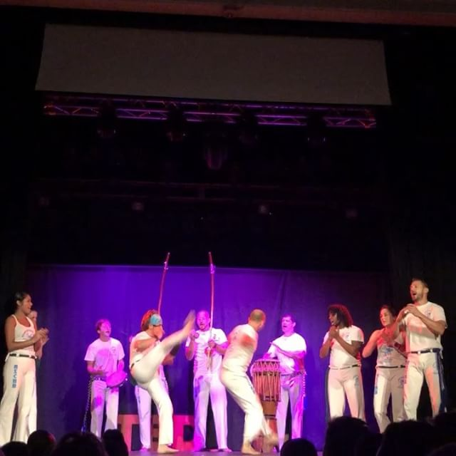 It was lit on Saturday as @ascabnc performs this epic Brazilian martial arts. Swipe to learn more about the historic roots behind #capoeira . . . . #tedxraleigh2018 #tedxraleigh #downtownraleigh #raleighnc