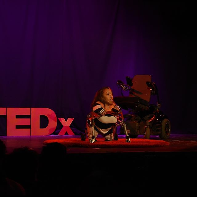 In this riveting, funny, and encouraging talk, Founder of @Made2Soar Monique Johnson describes the fear she had, at the age of 9, of dying from any dozens of complications with her diagnosed condition. If you think you have had a bad day or obstacles to overcome, this is a must watch. . . . . #tedxraleigh #raleighnc #downtownraleigh #made2soar #lincolntheatreraleigh