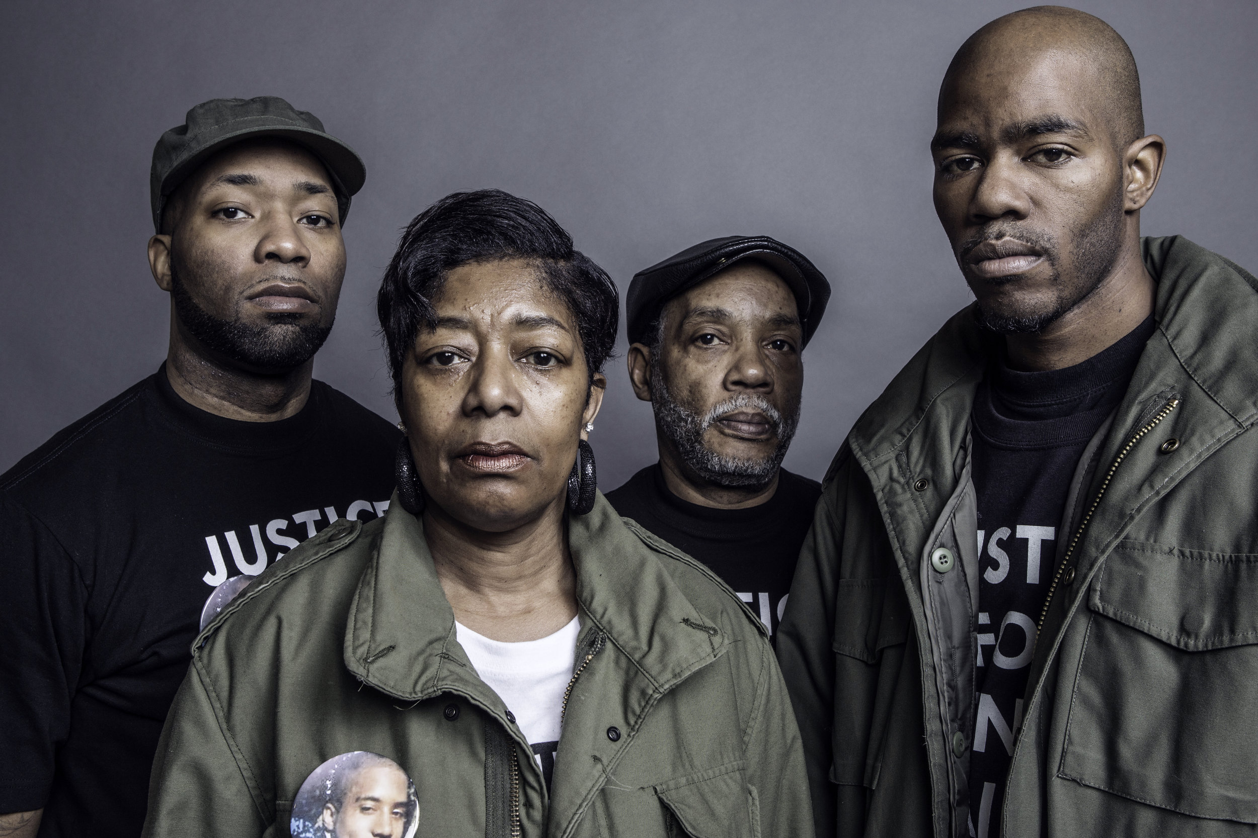 The Hamilton family won't ever stop fighting for Dontre Hamilton. (Picture by Erik Ljung)