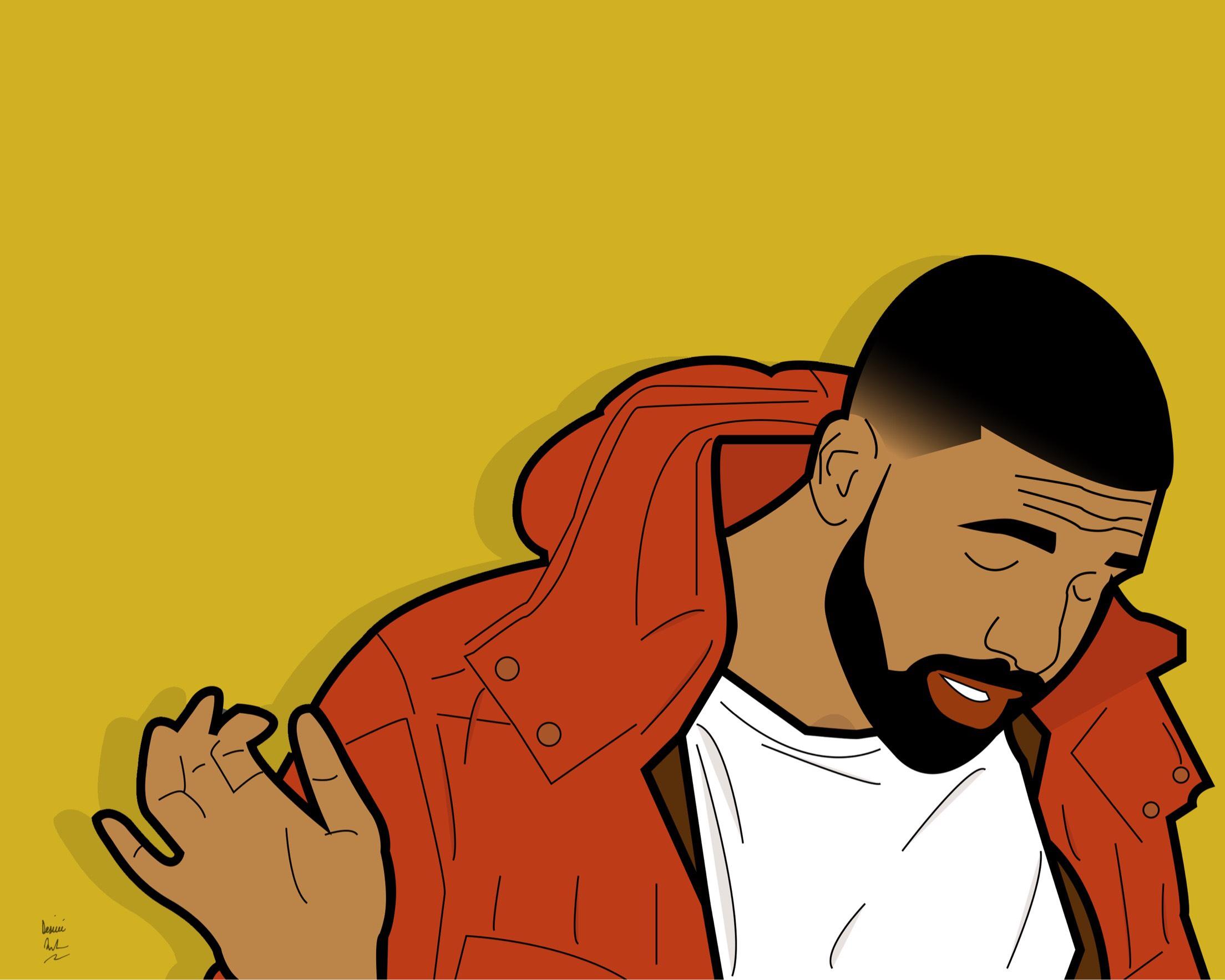 Drake. (Graphic Design by Desiree Fuller)