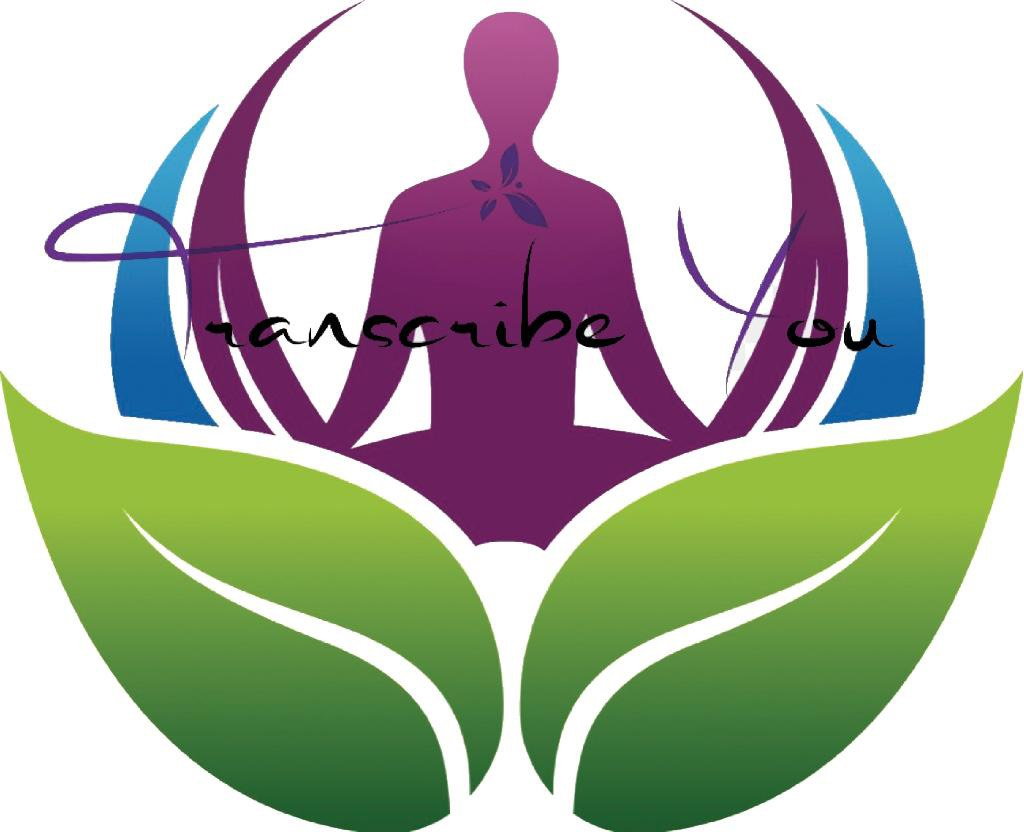 The logo for Jasmine Jackson's mental health app Transcribe You.