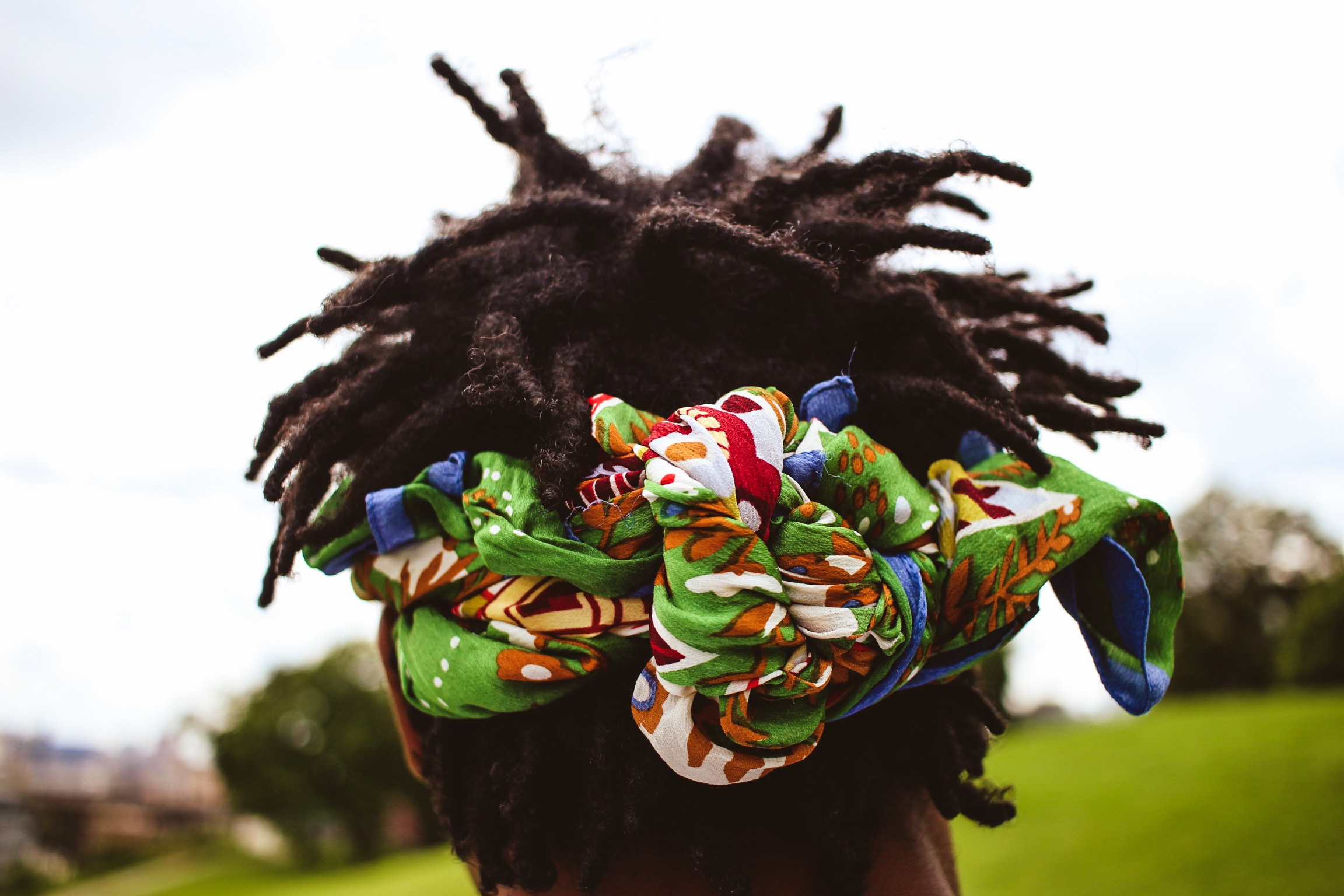 Locs up-close and personal at Issa Loc Celebration's first year. (Picture by Sayvon Friend)