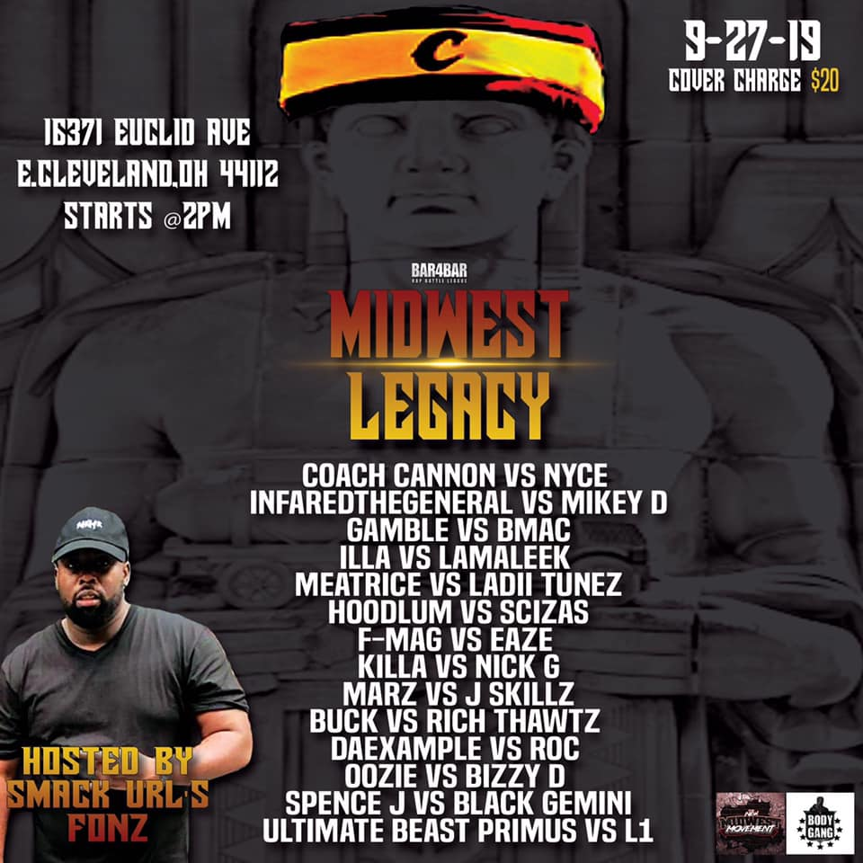 Battlers from Milwaukee and across the Midwest will be battling at Midwest Legacy. (Photo courtesy Bar4Bar Battle League.)