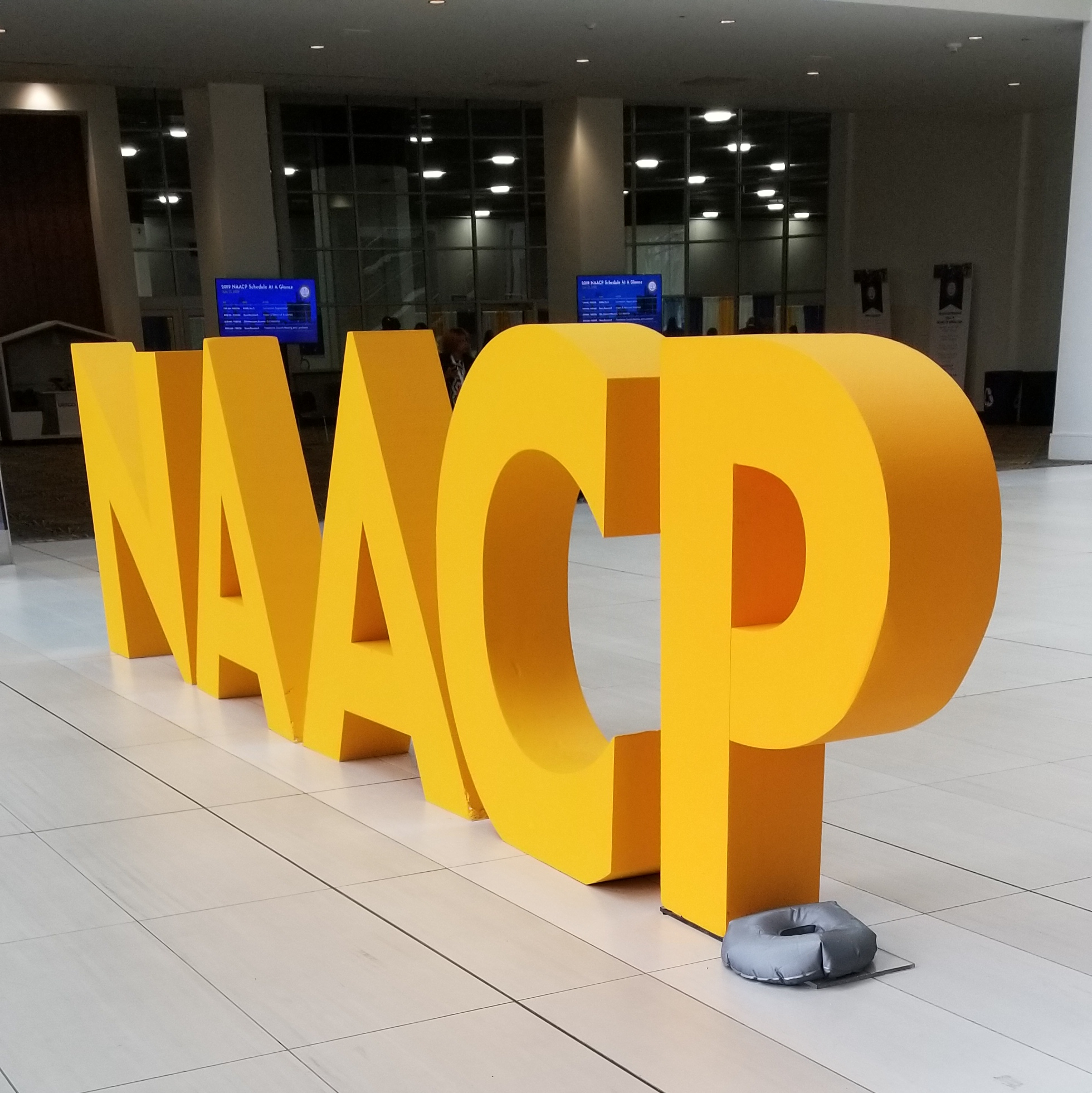 Signature at the NAACP 110TH Annual Convention. (Picture by Alex Edwards)