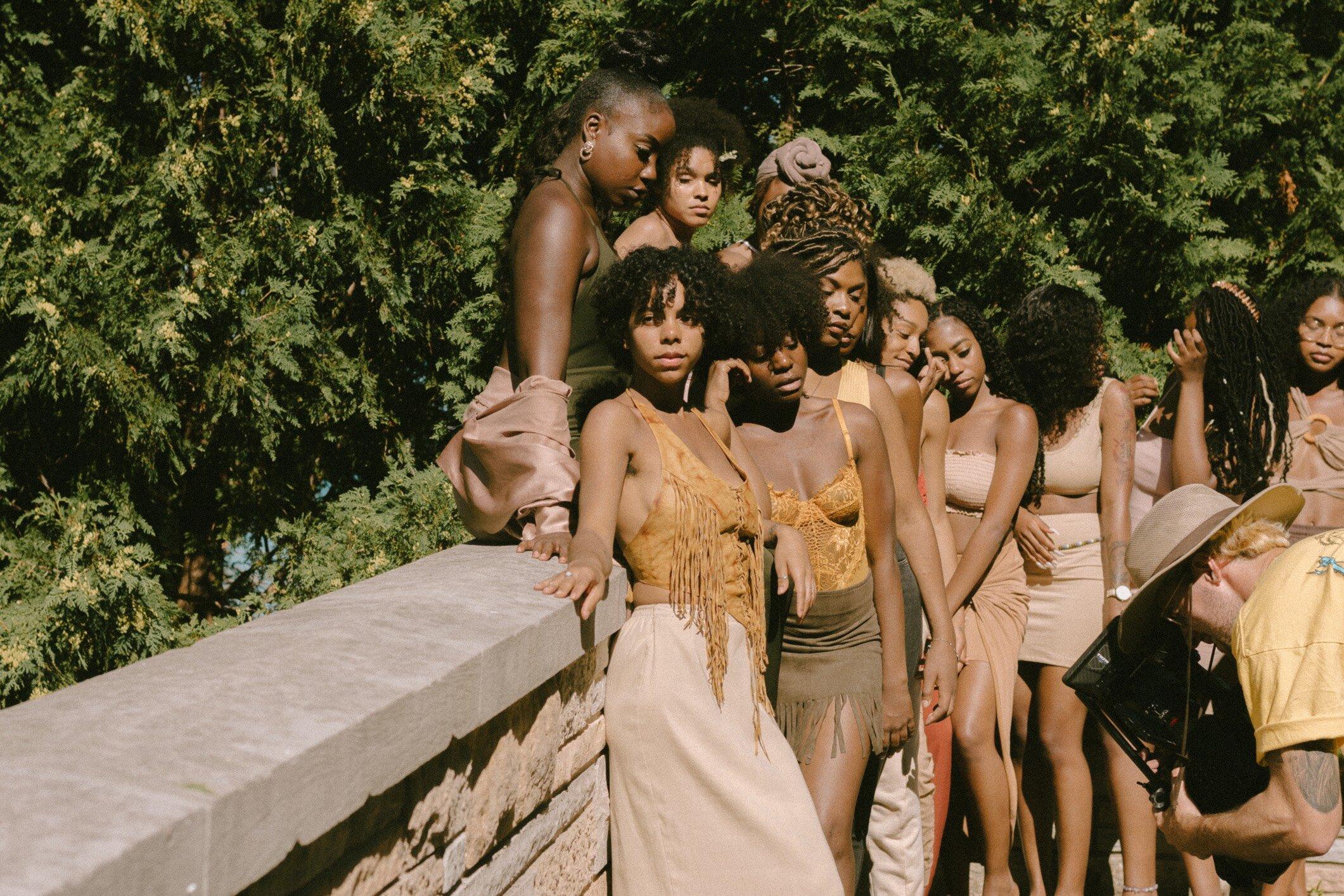 "Over 20 Black women were apart of Von Alexander's music video ""Solange"". (Picture by Mahdi Gransberry)"