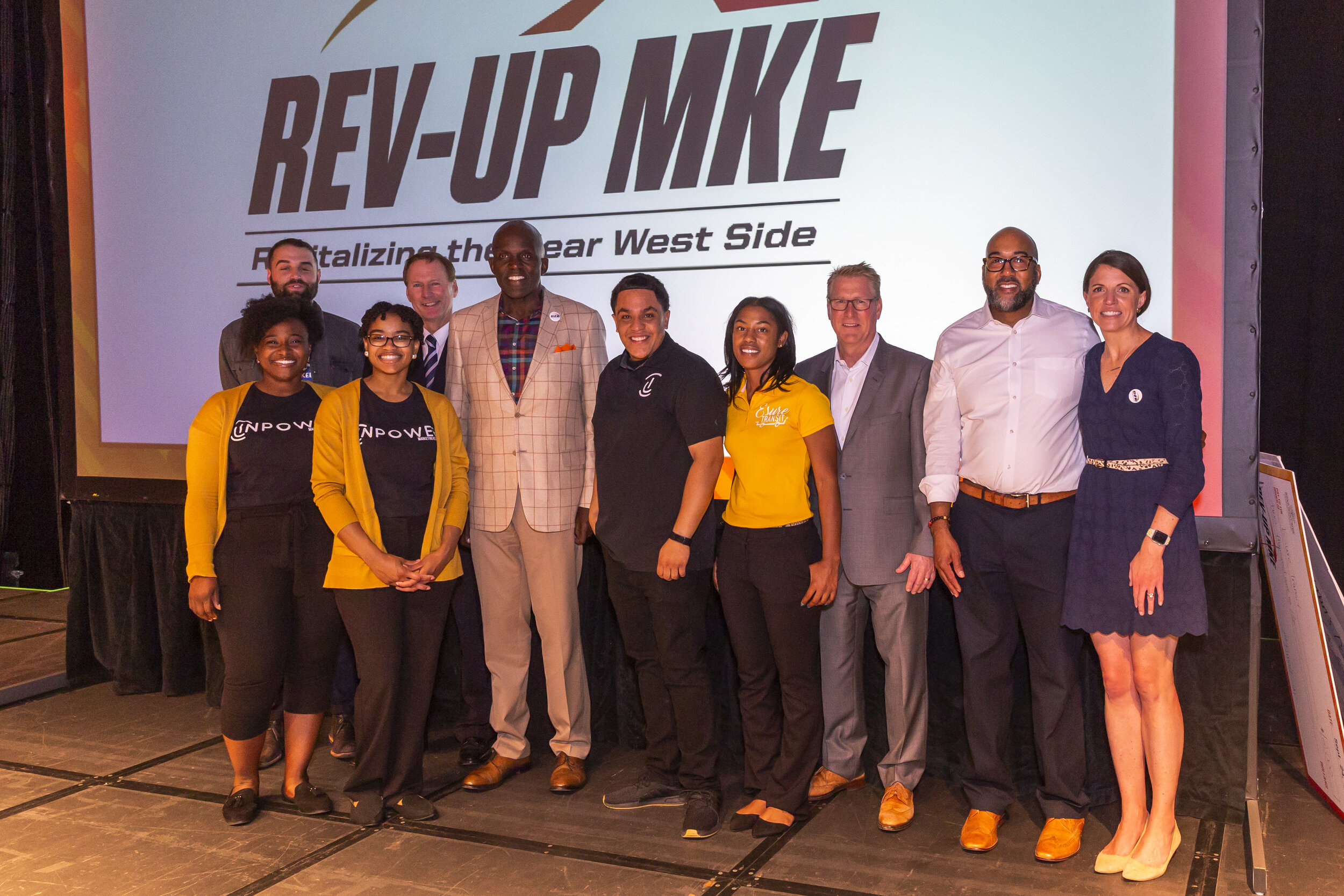 2019 Rev-Up MKE contestants. (Picture by Jennifer Janivere)