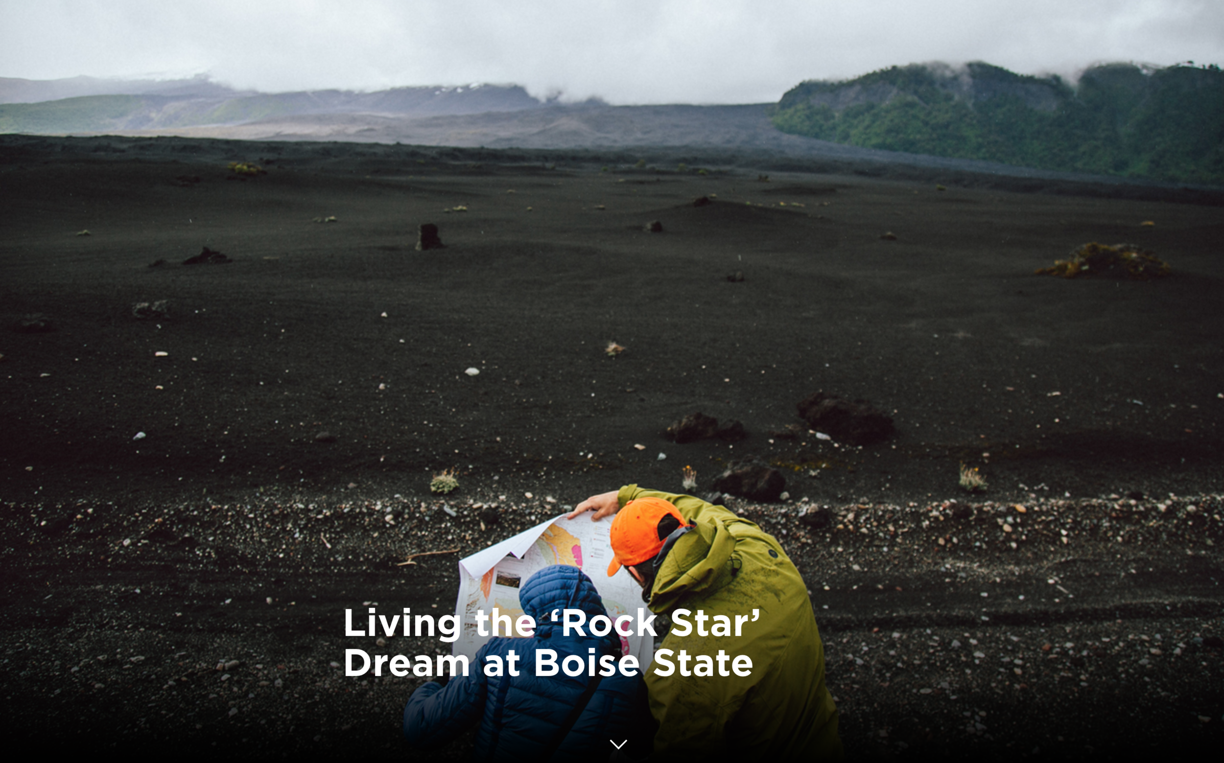 Living the 'Rock Star' Dream at Boise State