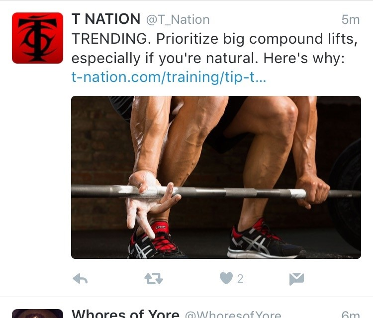 A popular fitness site distinguishing natural from steroid using readers. Spoiler...th article recommends prioritizing big lifts to boost anabolic hormone production.
