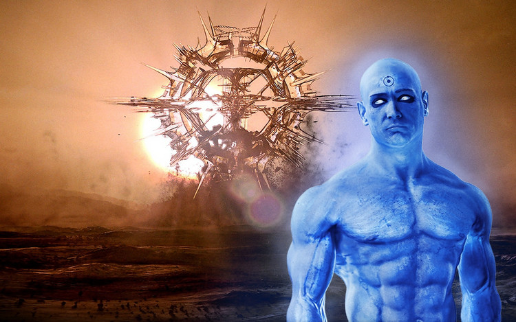 Hypothesis: Dr. Manhattan's blood plasma is pure Beta hydroxybutyrate