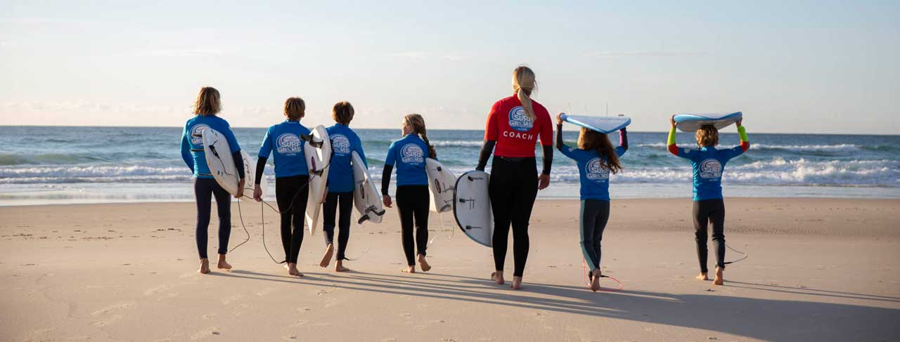 Photo:    The Margaret River Surf School