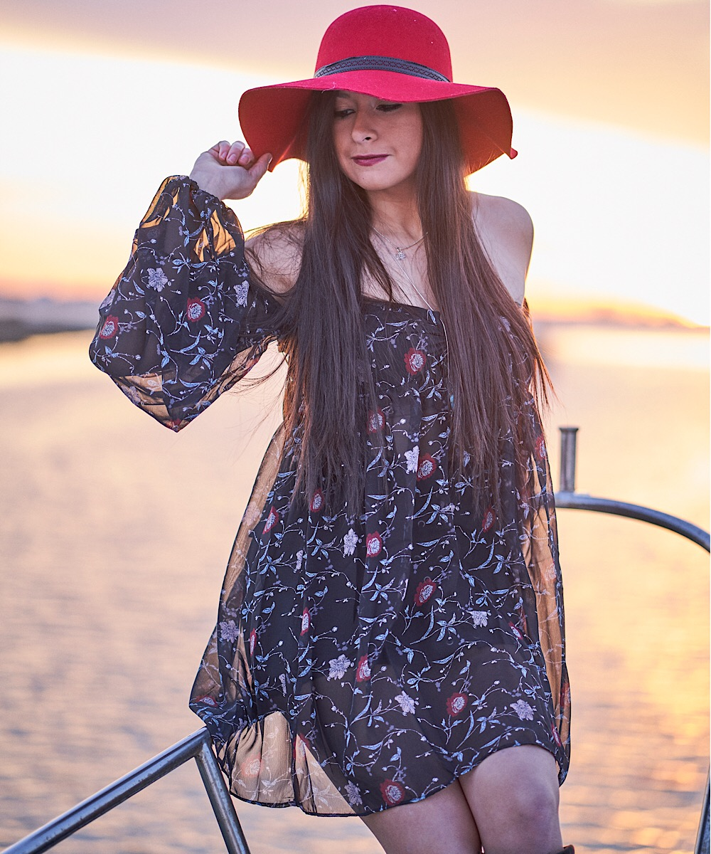 Vamped Up Tunic ,  Sunshine Rhonda Hat