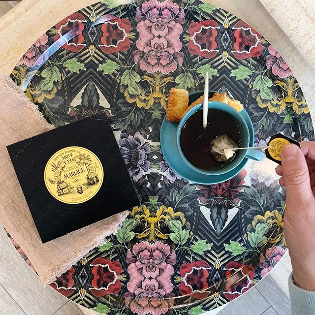 It's almost tea time!  Need a little pick me up after your Halloween escapades?! We've got you covered from the tea to the tray to help you get through the day!  #prettyplease #teatime #fridaytea #homebodydenver #homebodygifts #greatgifts #aspotoftea