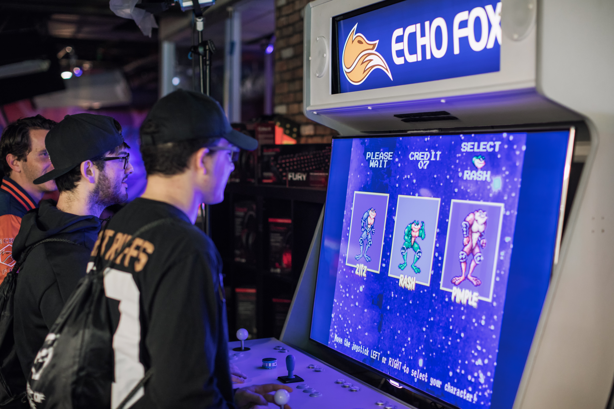 BEHIND THE SCENES WITH ECHO FOX   FEB 09, 2018