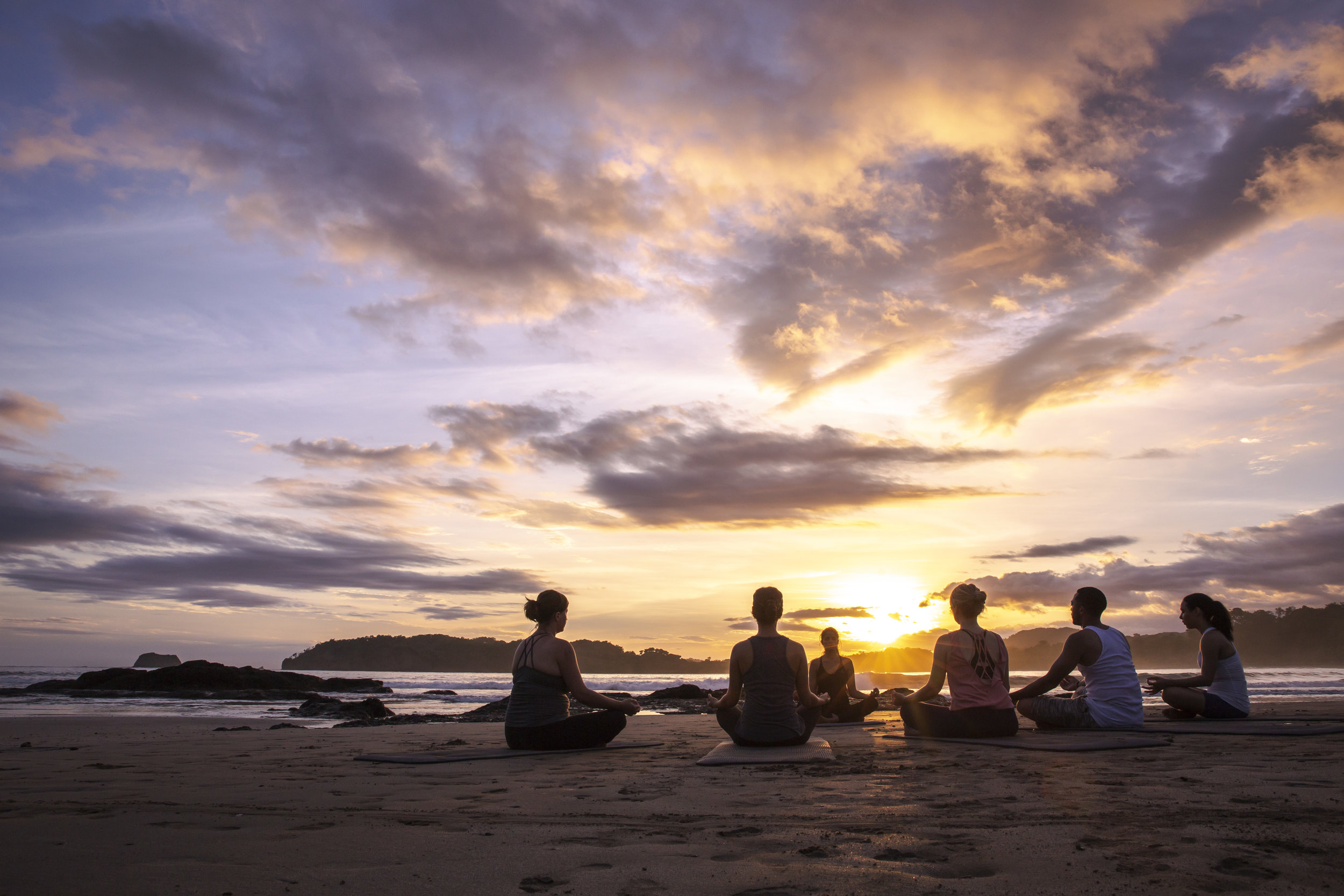 Costa Rica Playa Carrillo Beach Sunset Yoga Meditation Group - 2018 0W3A3398 Lg RGB.jpg