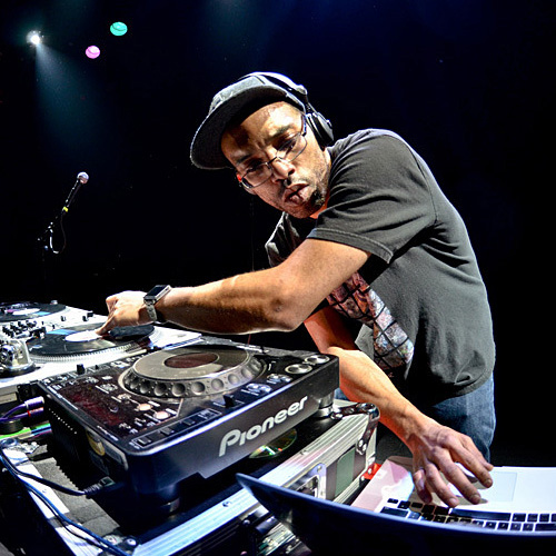 """J.ROCC   J.Rocc's love of music started when his parents started buying him records at a very young age. DJ'ing since the late 80's, J.Rocc is credited with founding the Beat Junkies in 1992 and has gone on to be known as one of the most creative and inventive DJ's in the world. J.Rocc's uncanny ability to rock any party with any genre of music, combined with his funky yet technical approach, is the backbone of the """"Beat Junkie Style"""" of Mixing and has made him a favorite amongst music lover's worldwide. With an infinite knowledge of records and a resume that reads like that of a DJ legend, """"The Funky President"""" continues to bring his love of music and DJ'ing to the world and now he brings it you as an instructor at the Beat Junkie Institute Of Sound.   Teaching: TRICK MIXING &specialized workshops ."""
