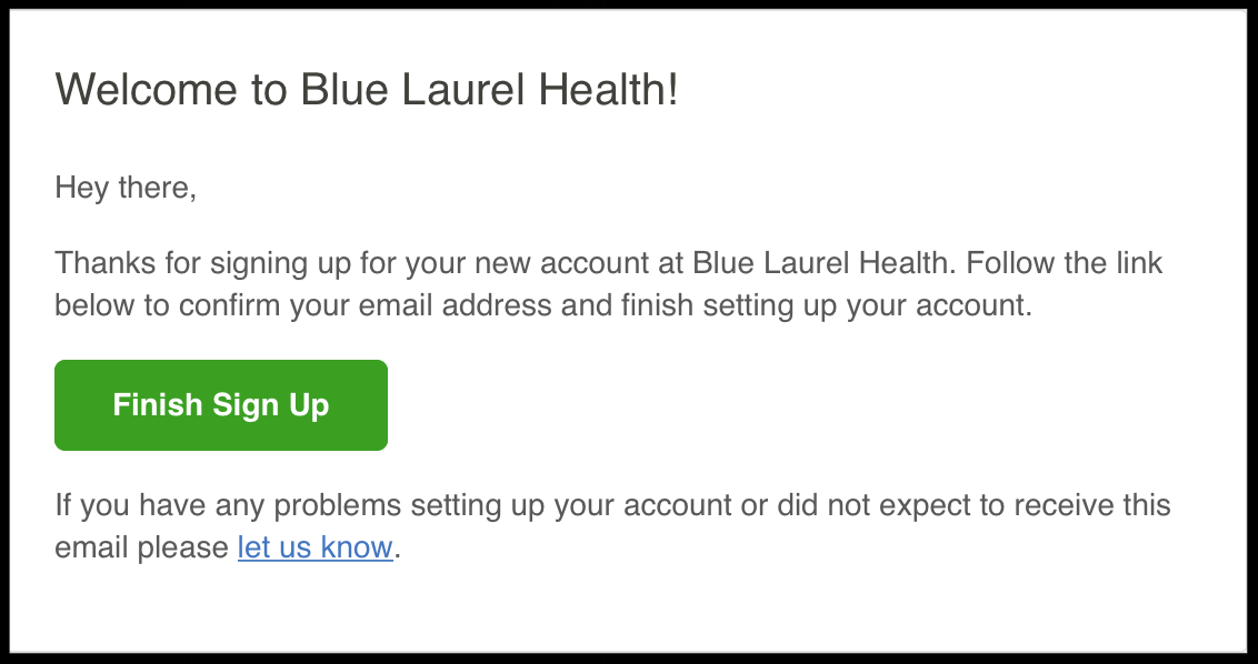 Step 4. Verify email for requesting medical records.