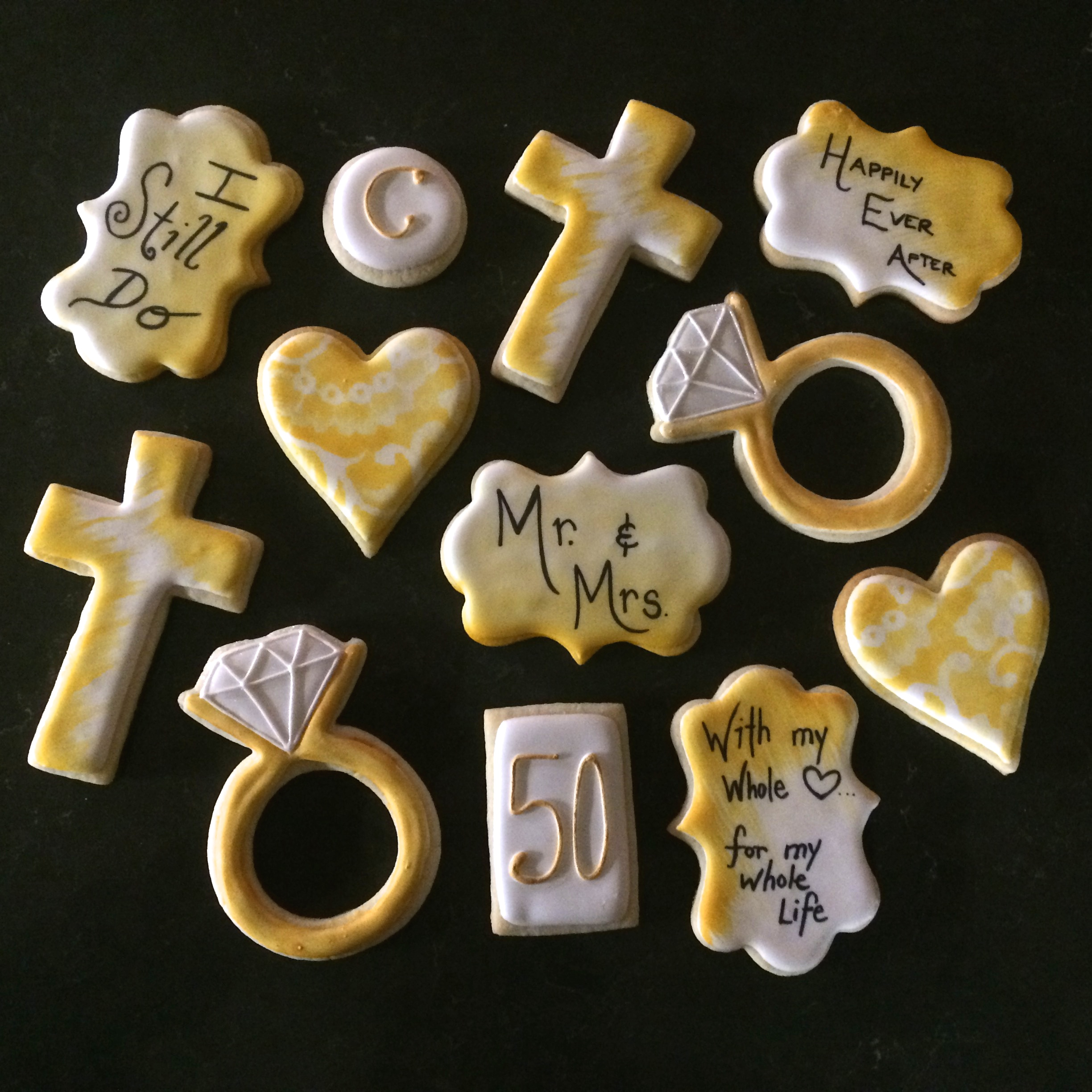 Anniversary Cookies by Seed Confections