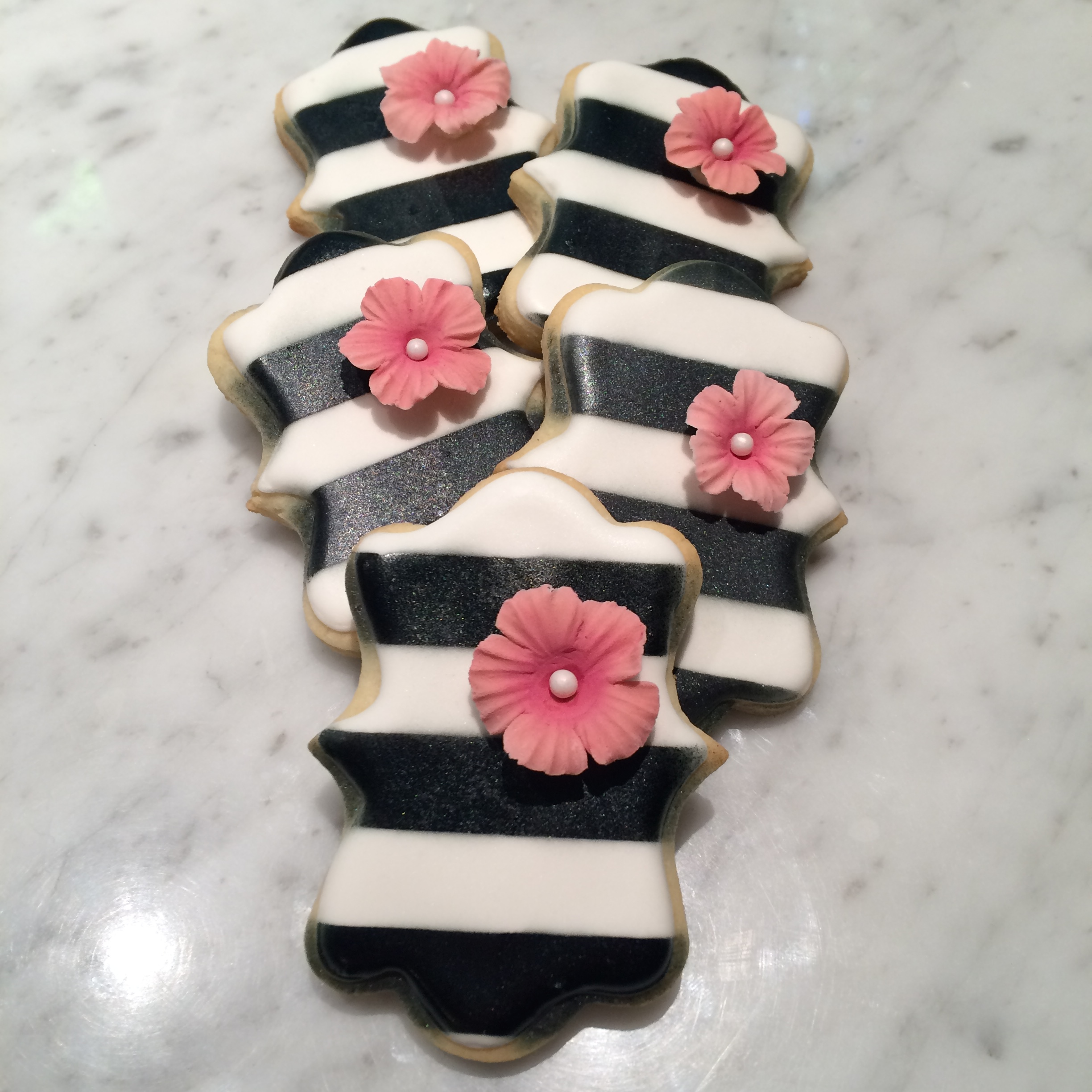 Kate Spade Inspired Cookies by Seed Confections