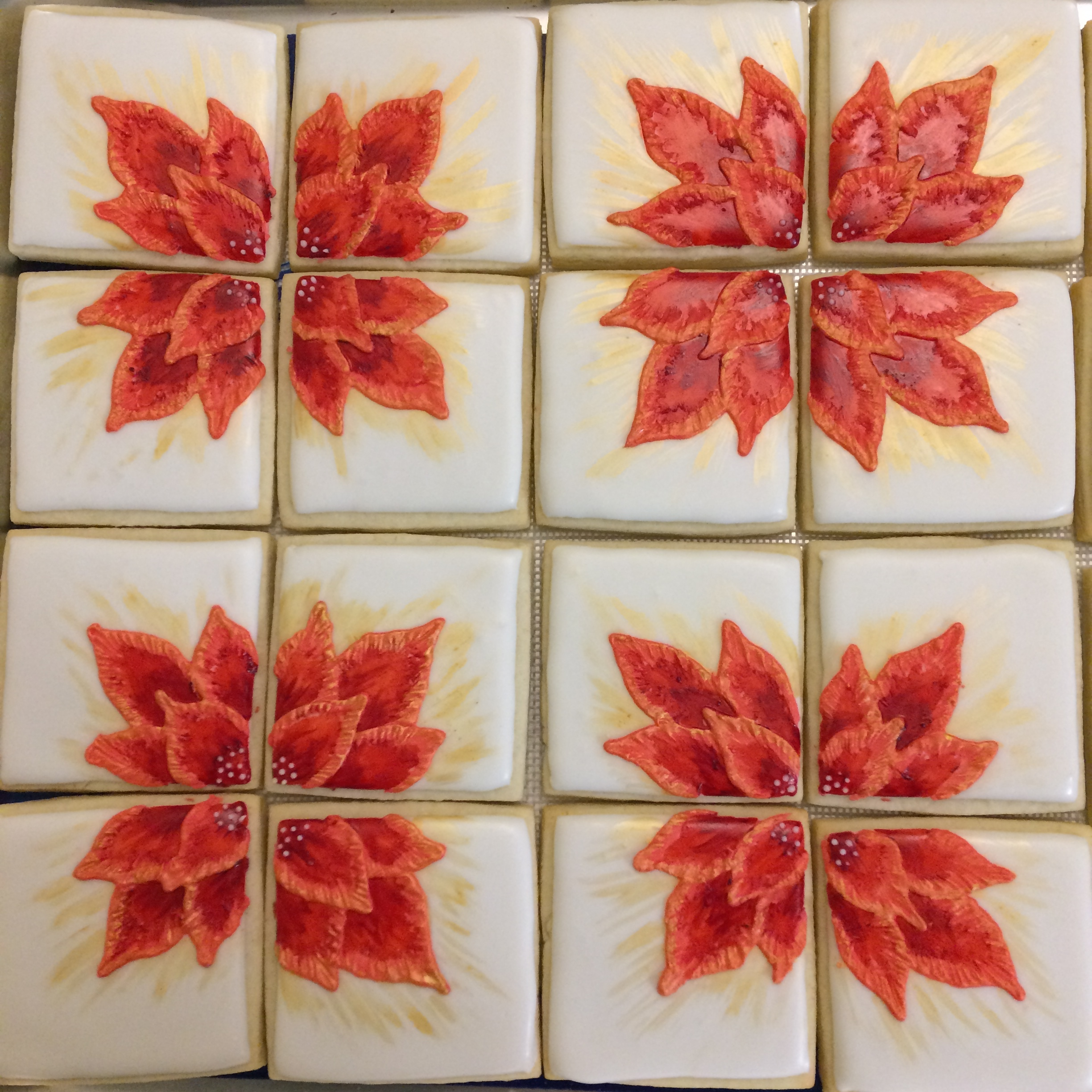 Poinsettia Chocolates by Seed Confections