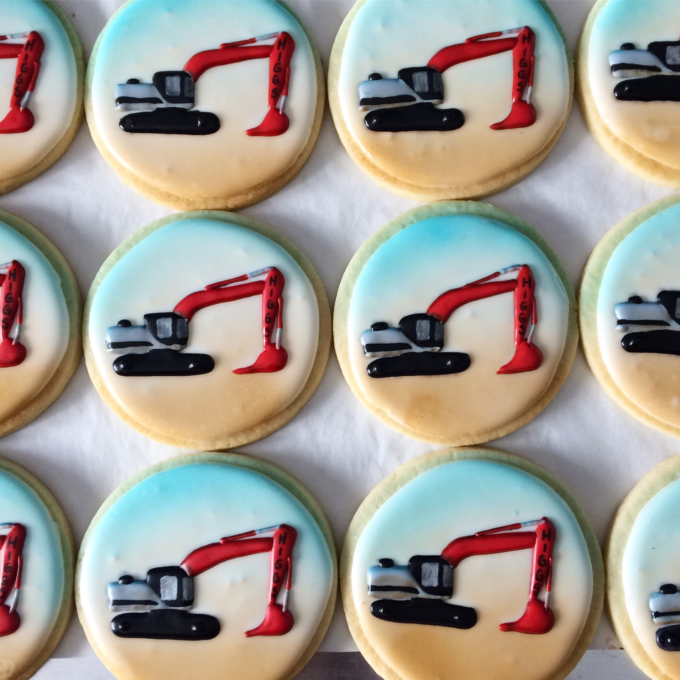 Excavator Cookies by Seed Confections