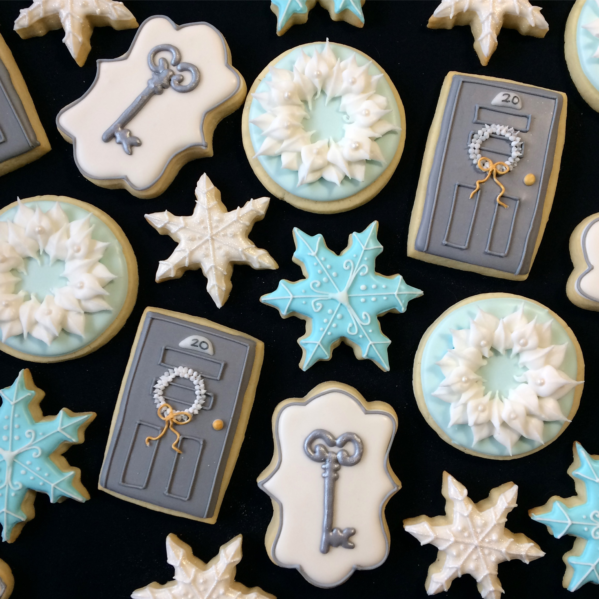Winter House Warming Cookies by Seed Confections