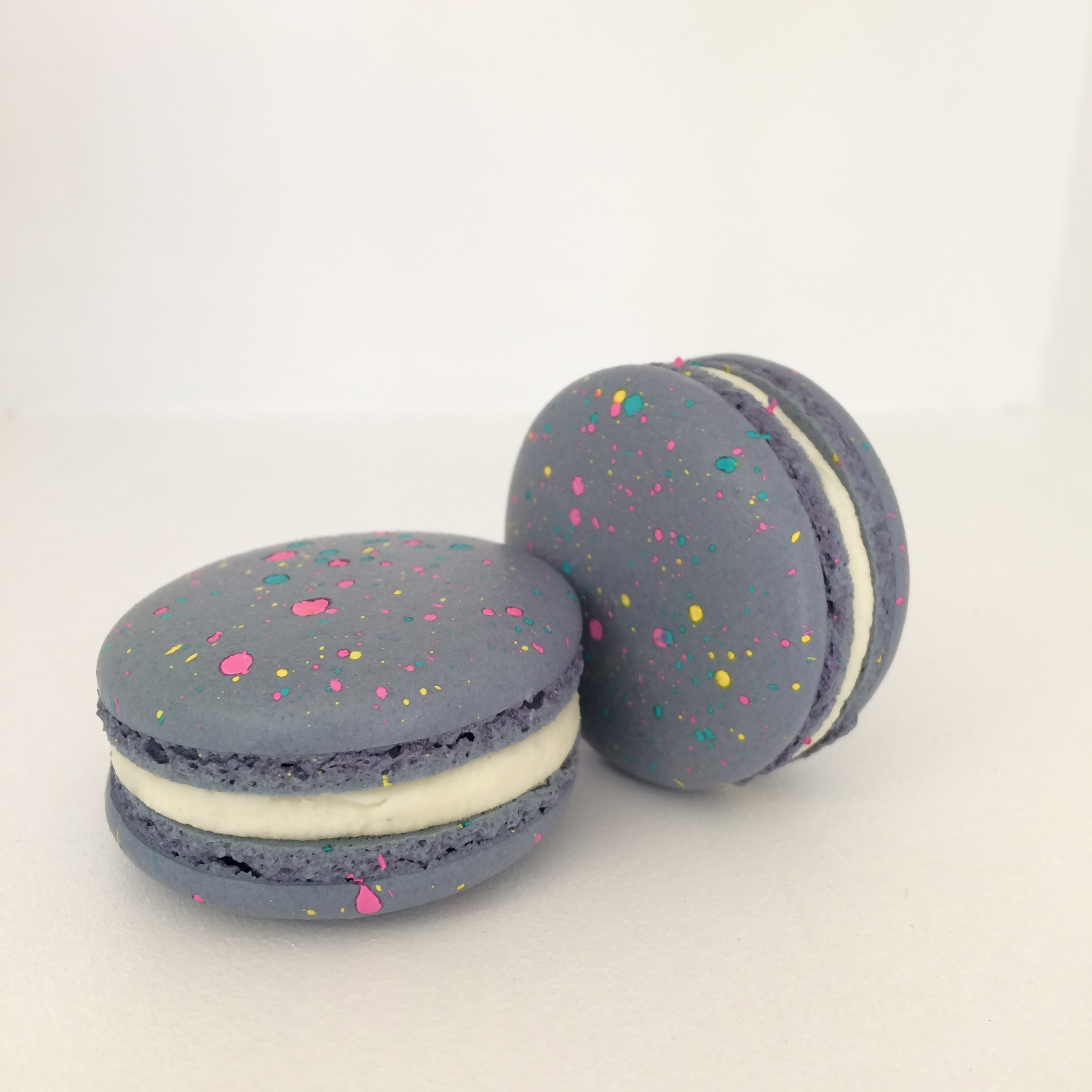 Pop rocks macarons by Seed Confections