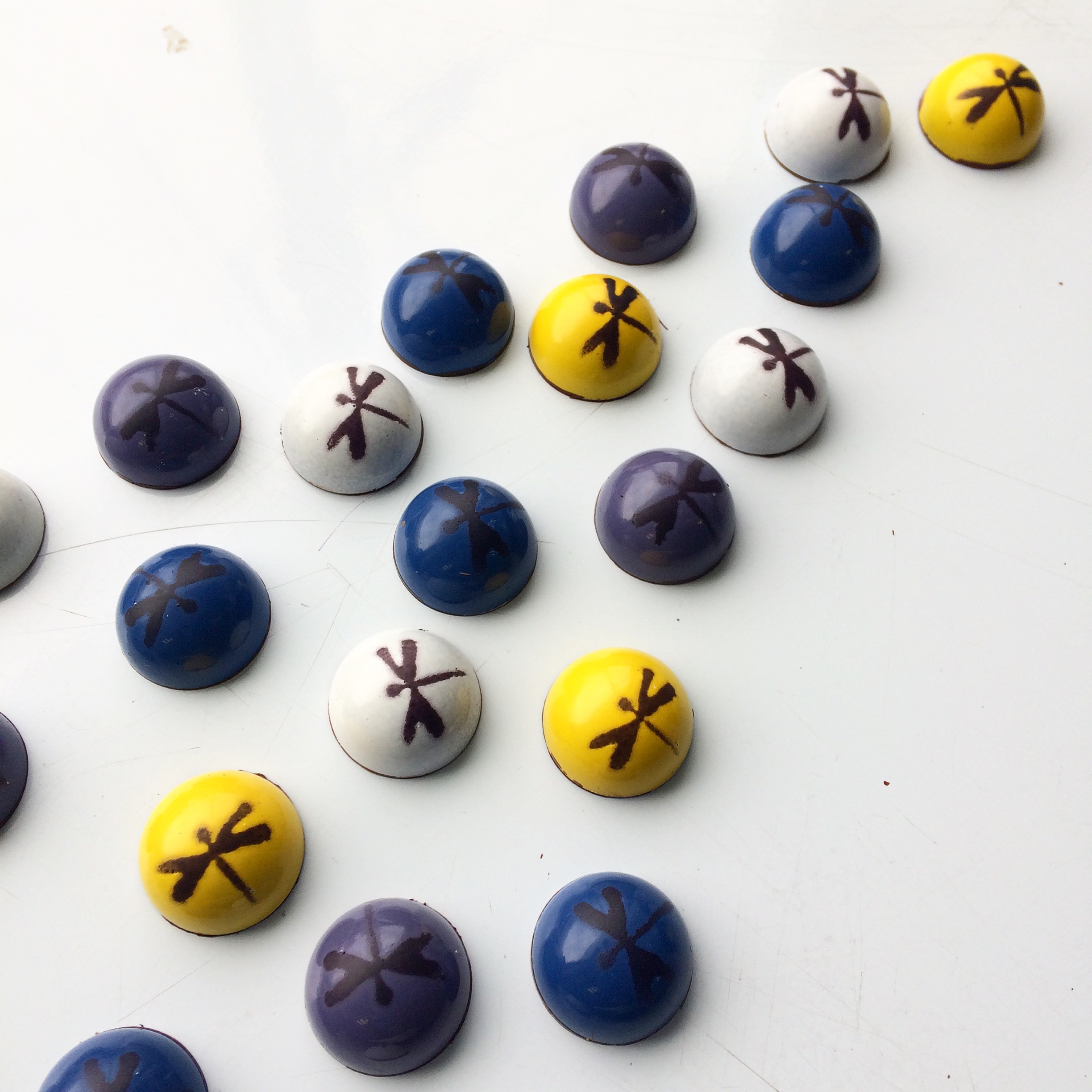 Dragonfly chocolates by Seed Confections