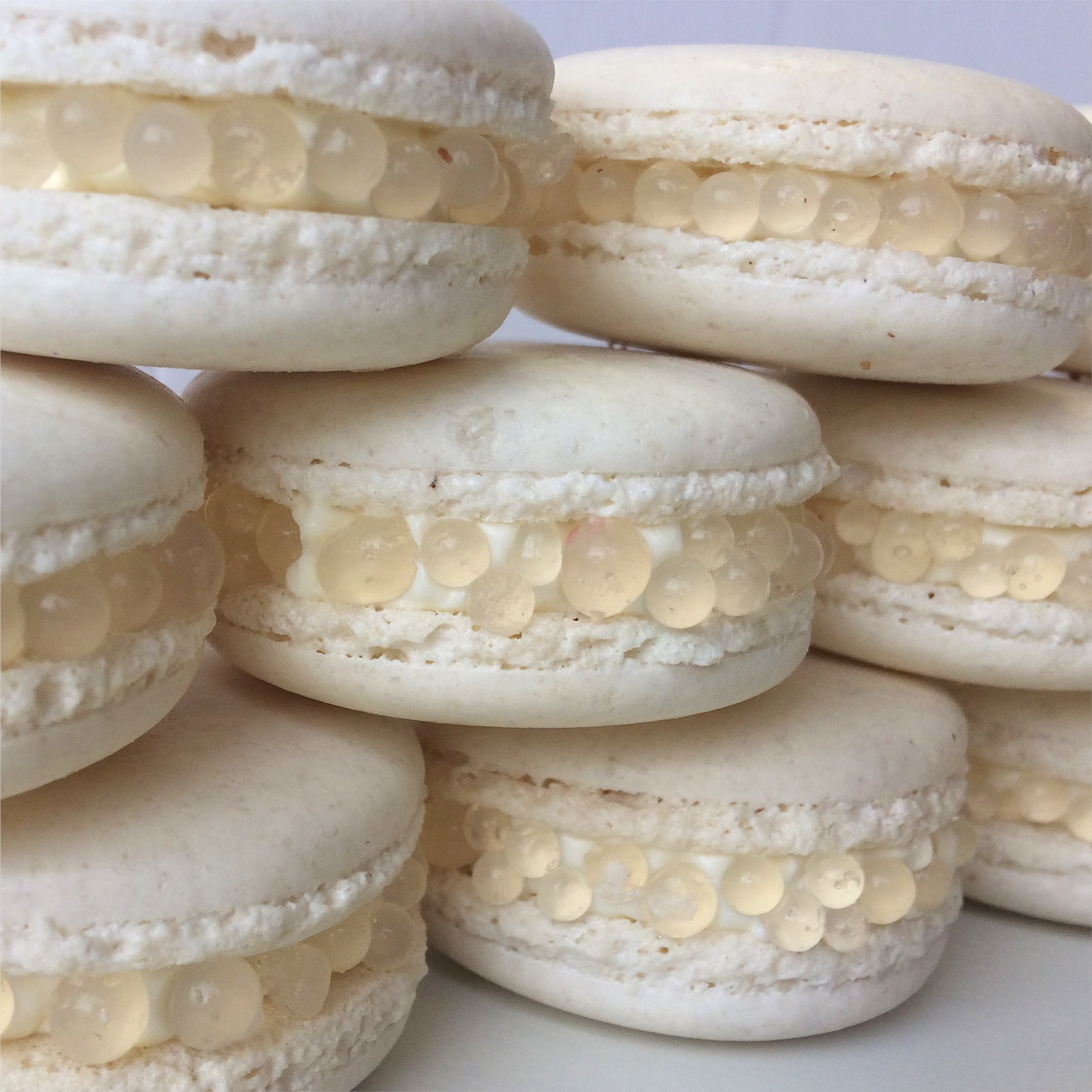 riesling macarons