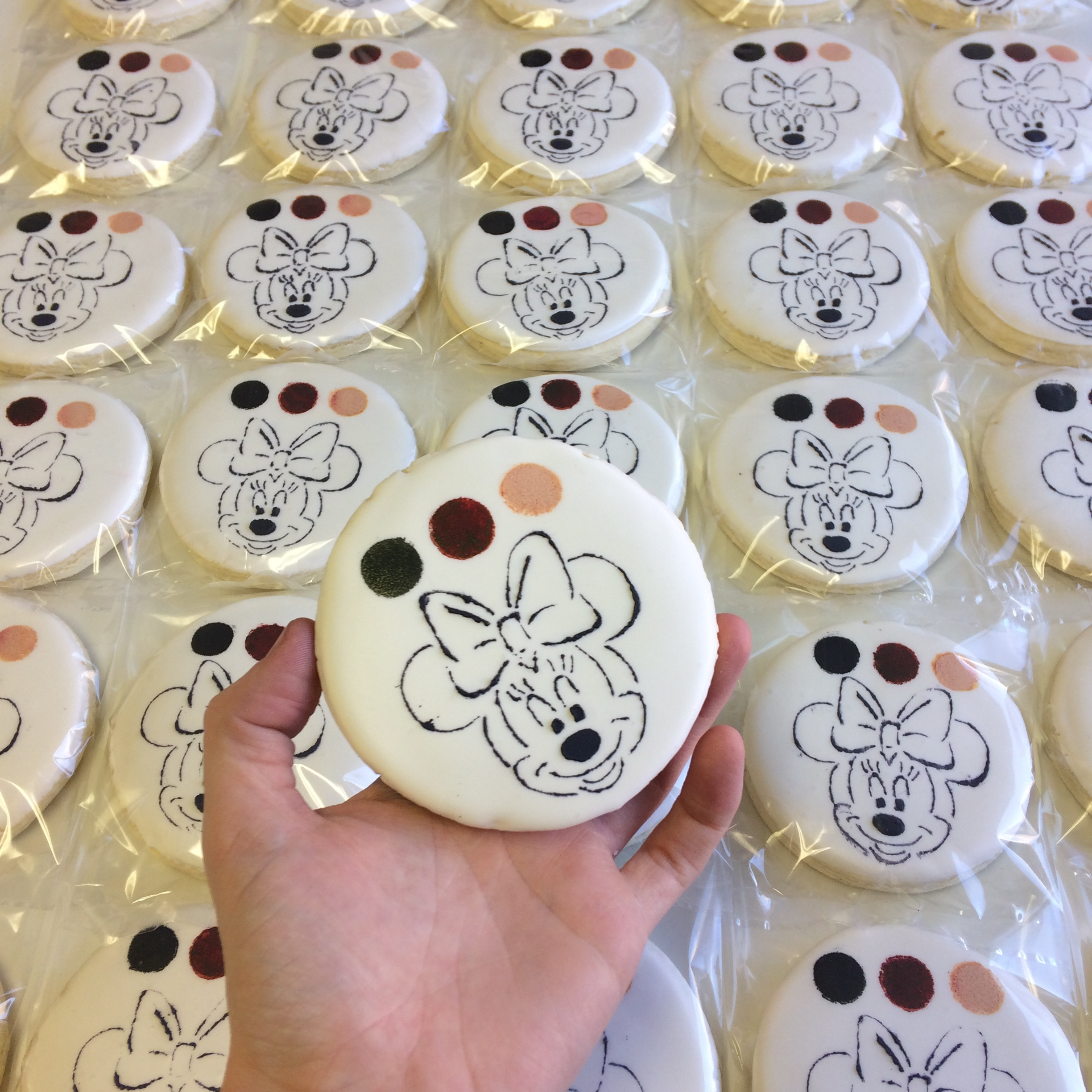 paint your own cookies