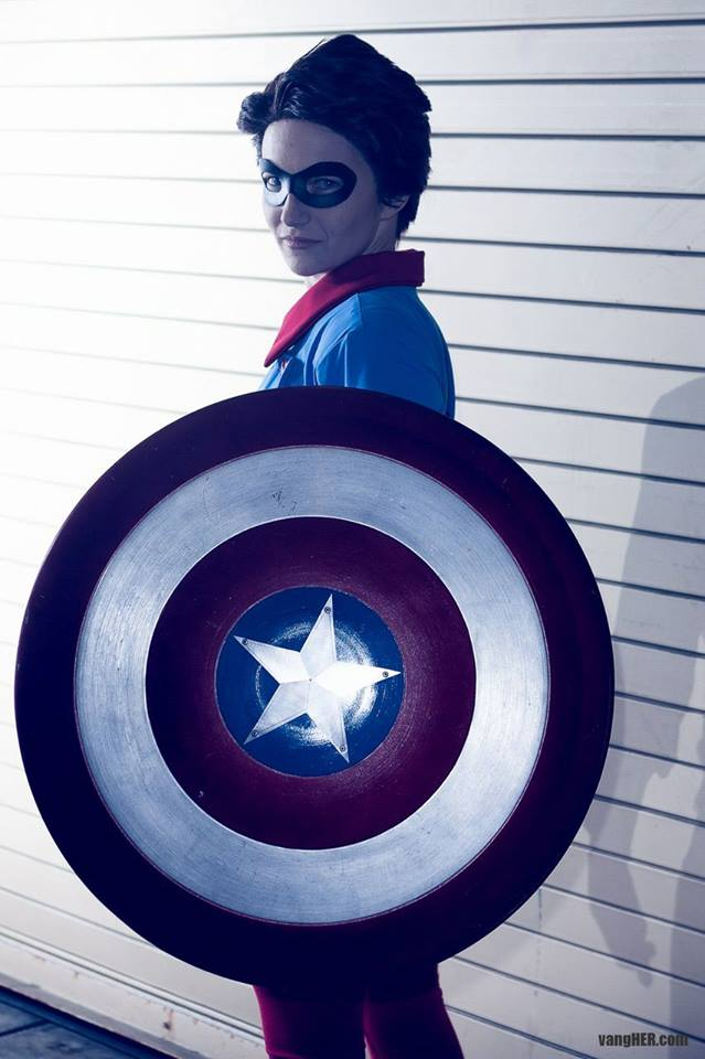 Photo by  Vang Her   Cap is  Final Justice Cosplay