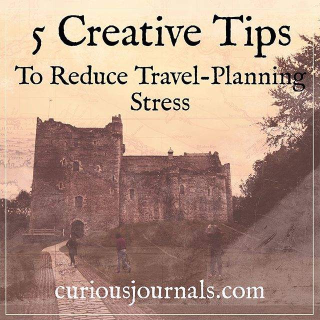 The truth is, as much as I love diving in to something new, almost everything about the planning process makes me anxious.  I've learned to use my creativity to ease the anxiety and stress, and to enjoy travel planning.  Read my top 5 tips for creative travel planning. Link in bio.  #travel #travelling #traveller #travelstress #travelplanning #mytravelgram #travelanxiety #anxiety #creativehappylife #vacationdreambook #DouneCastle