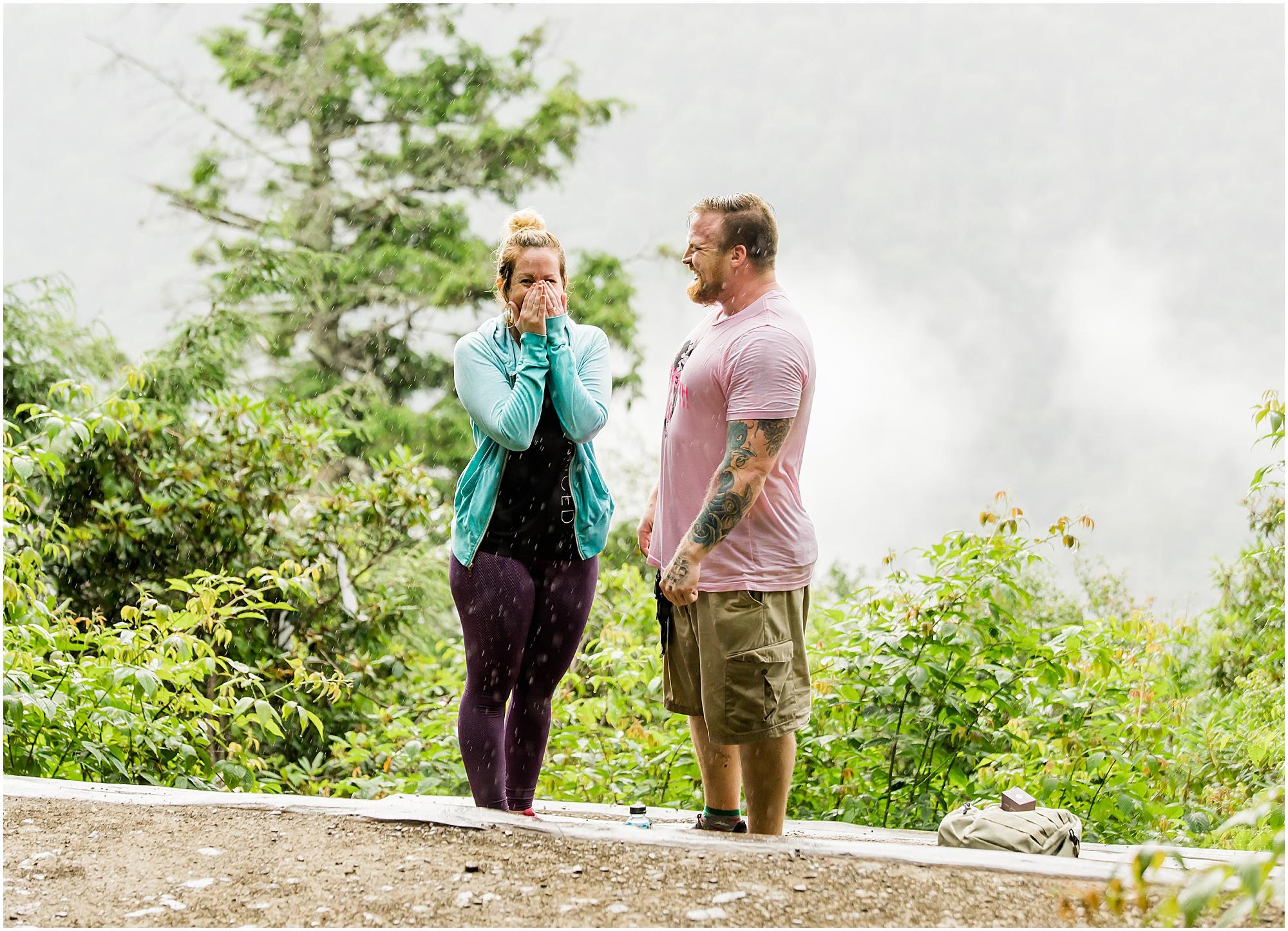 surprise proposal gatlinburg tennessee mountain engagement hiking new adventure productions_0096.jpg