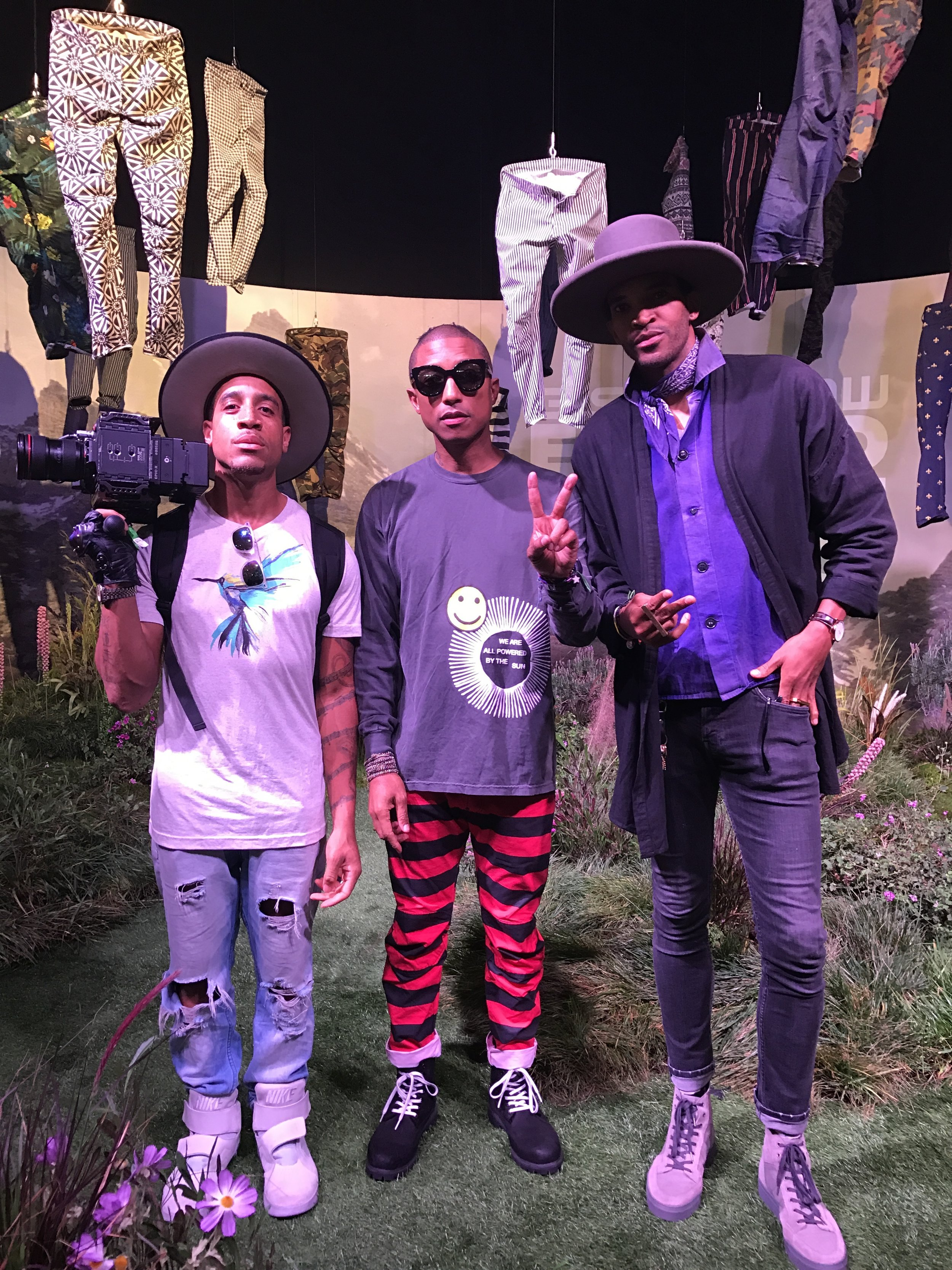 Vibes with QtheRebel/Pharrell @G-Star Launch ComplexCon 2016