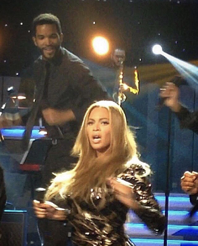 Performing @Grammy Salutes Stevie Wonder w/Beyonce