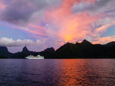 *Photo courtesy of Paul Gaugin Cruises